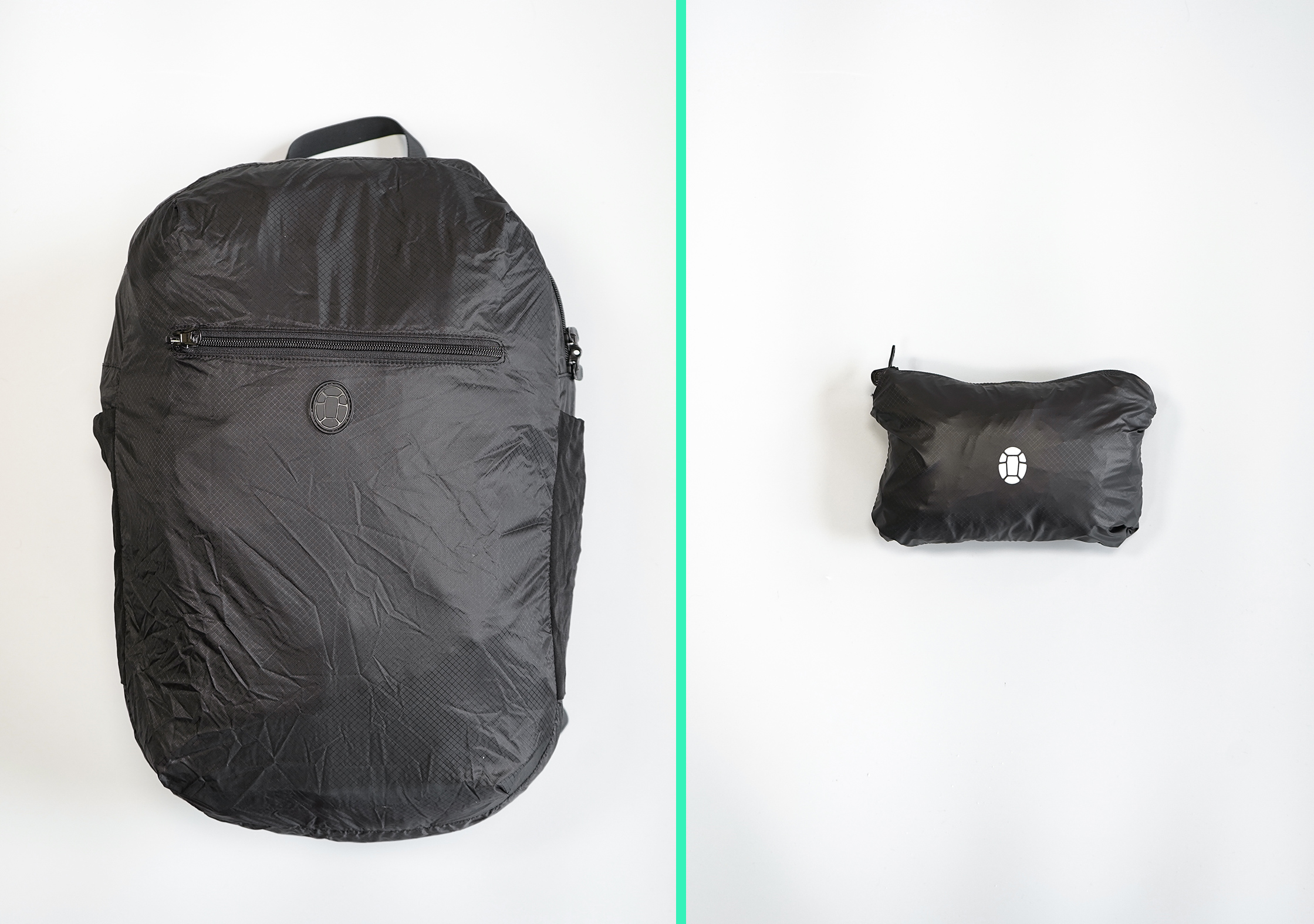 Tortuga Setout Packable Daypack Compressed Size Comparison