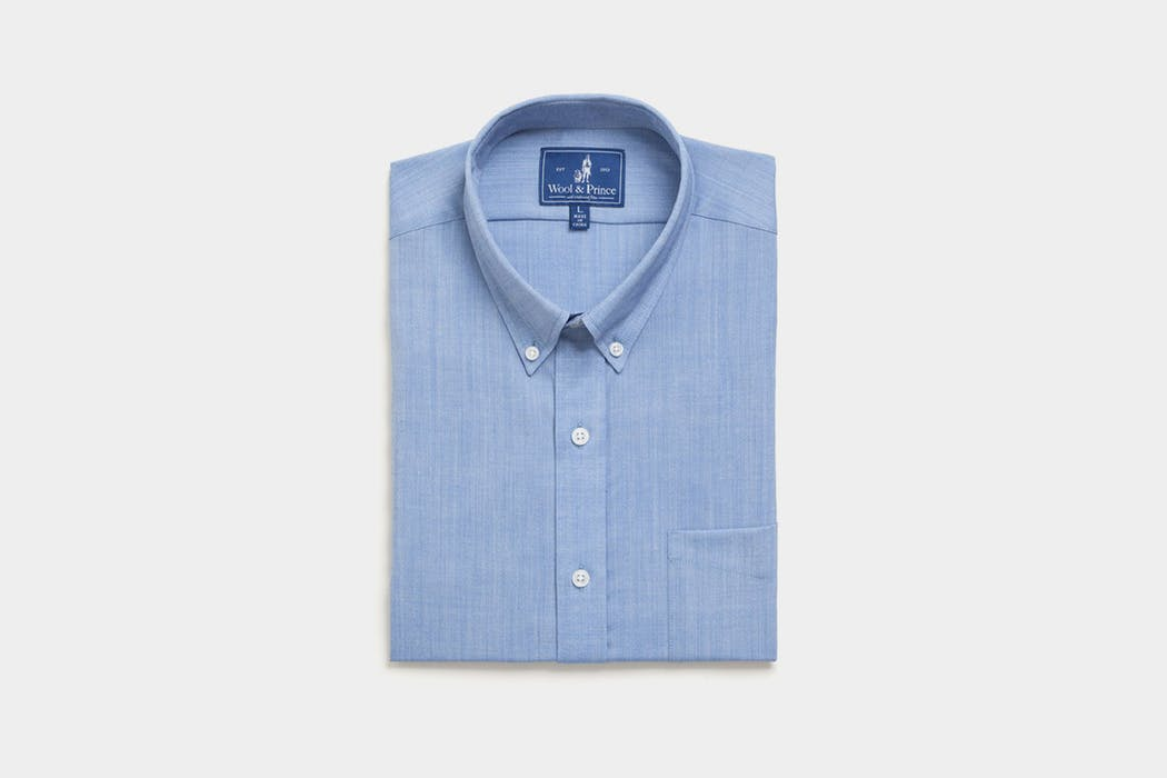 Wool & Prince Button Down Oxford