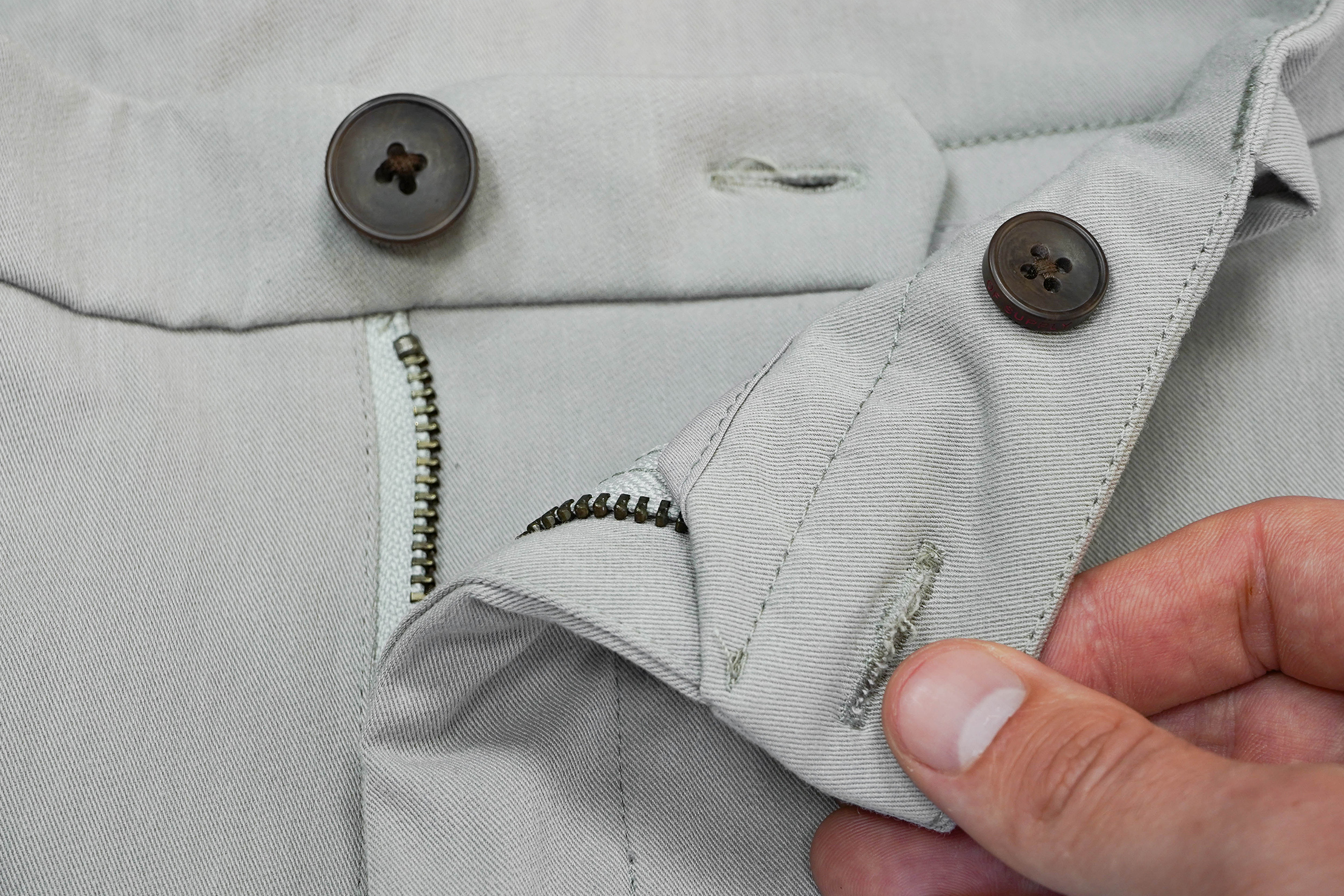 Ministry Of Supply Momentum Chino Inside Button