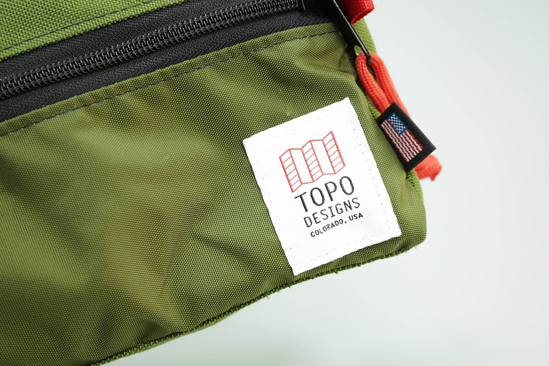 Topo Designs Dopp Kit Logo