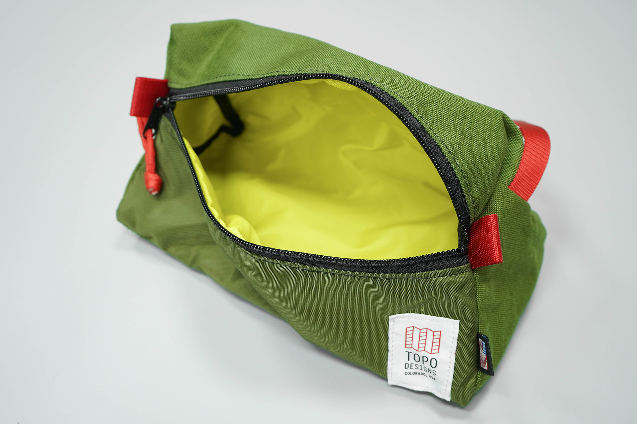 Topo Designs Dopp Kit Open
