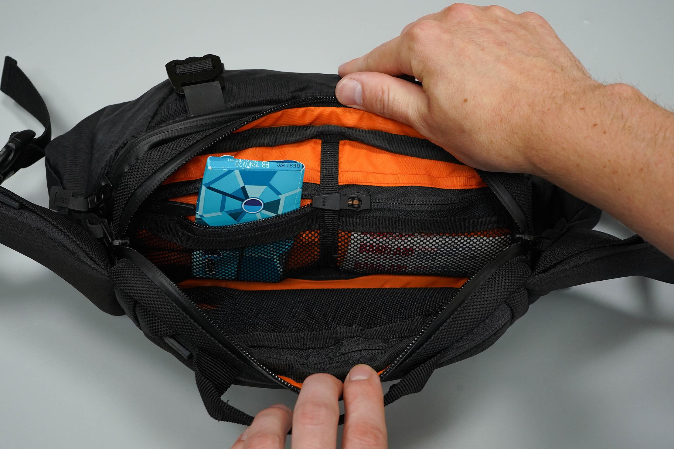 CODEOFBELL X-POD Front Mesh Pockets
