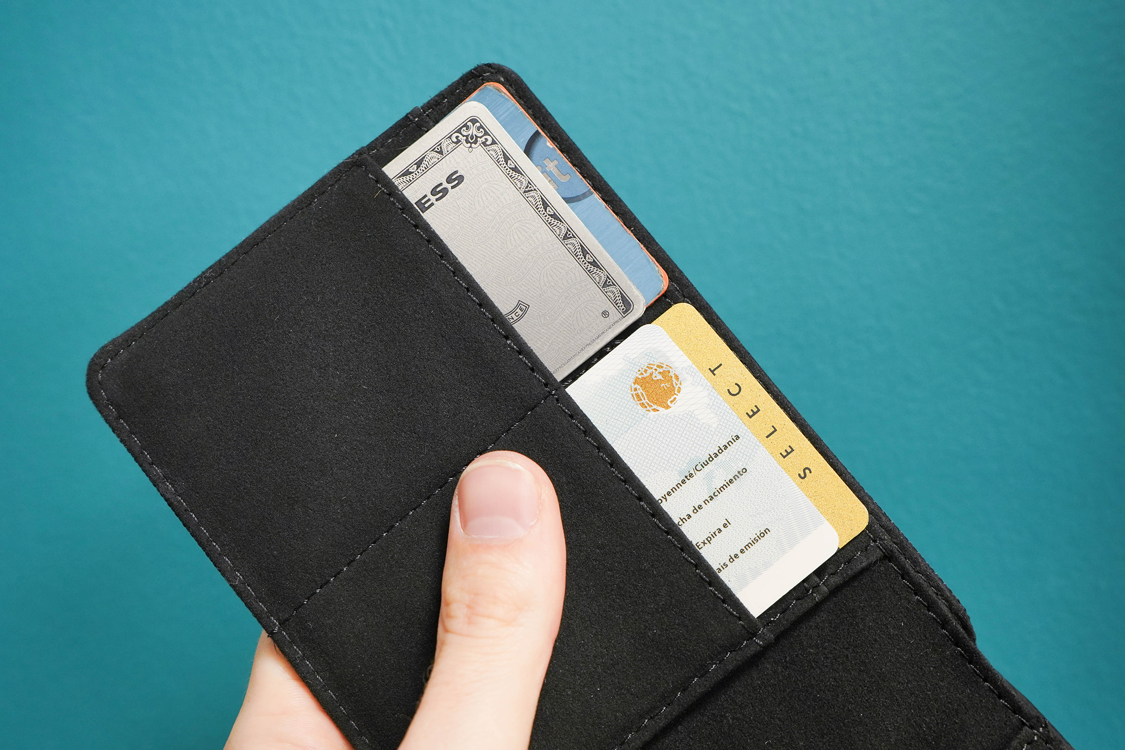 Aer Travel Wallet Card Holder