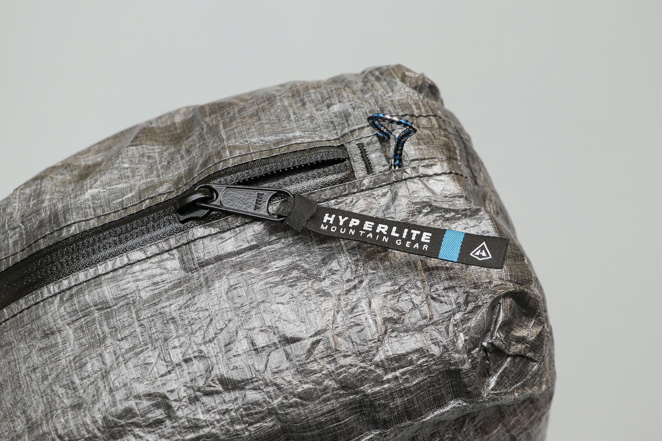 Hyperlite Mountain Gear Pod Zipper And Pull Tabs
