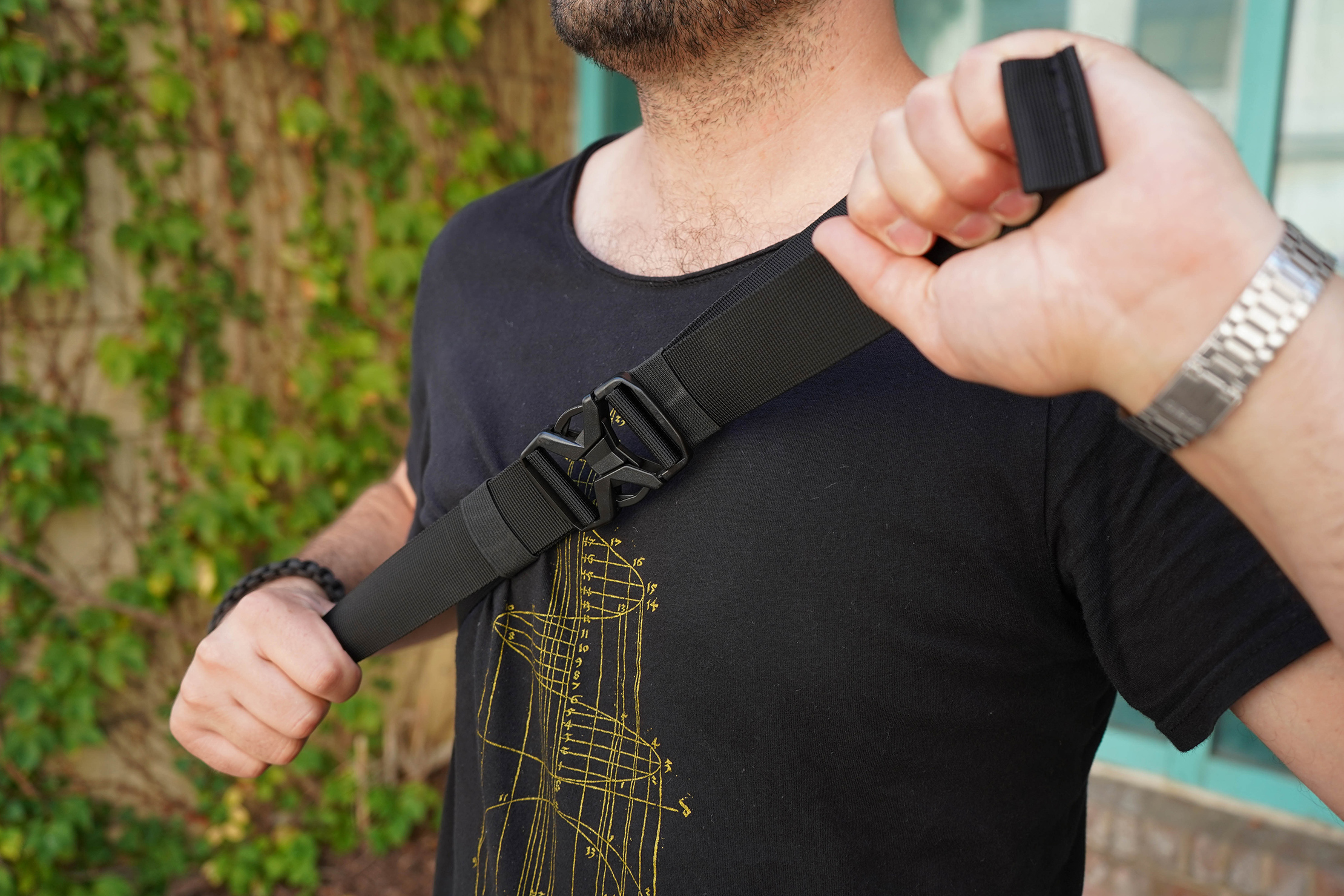 CODEOFBELL X-POD Chest Strap Adjustment