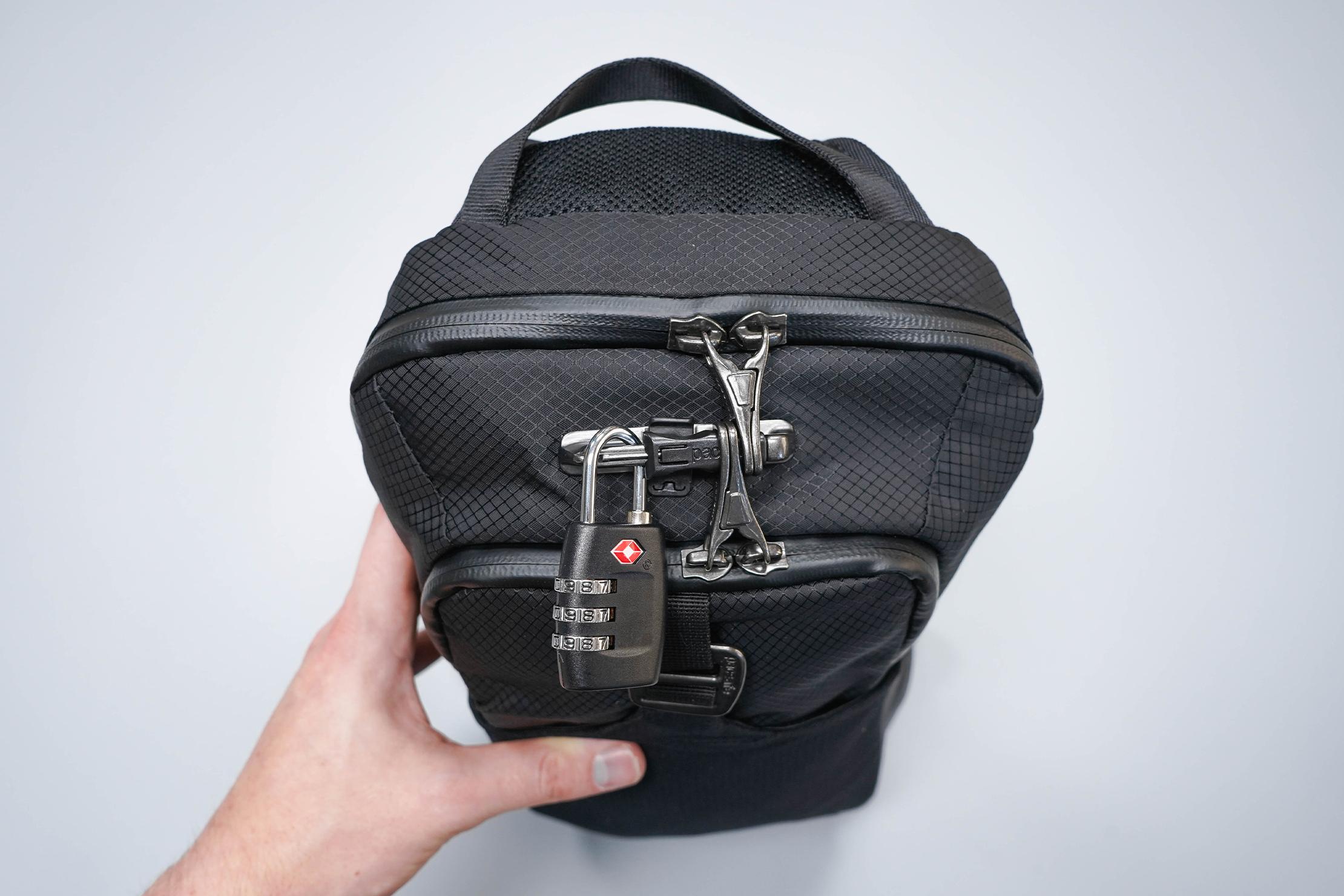 Pacsafe Venturesafe X Anti-Theft Sling Pack Lock