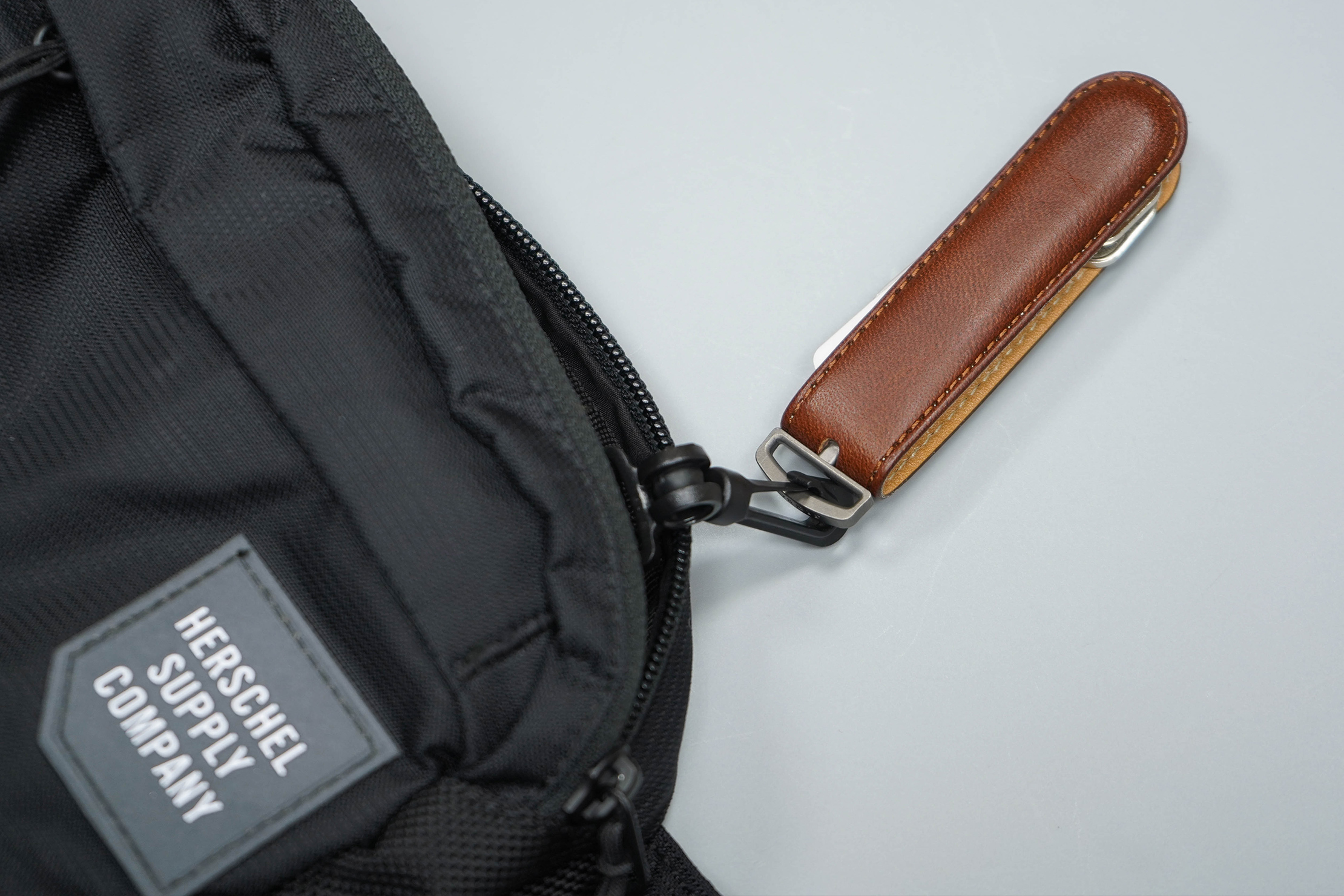 Herschel Supply Co Tour Hip Pack Small Key Clip