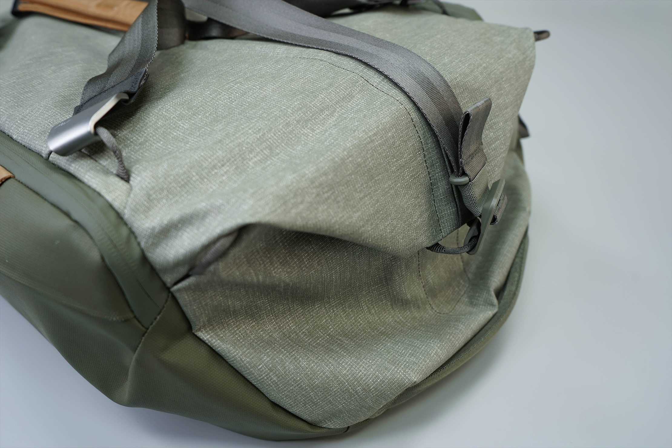 Peak Design Travel Duffel Side Folded