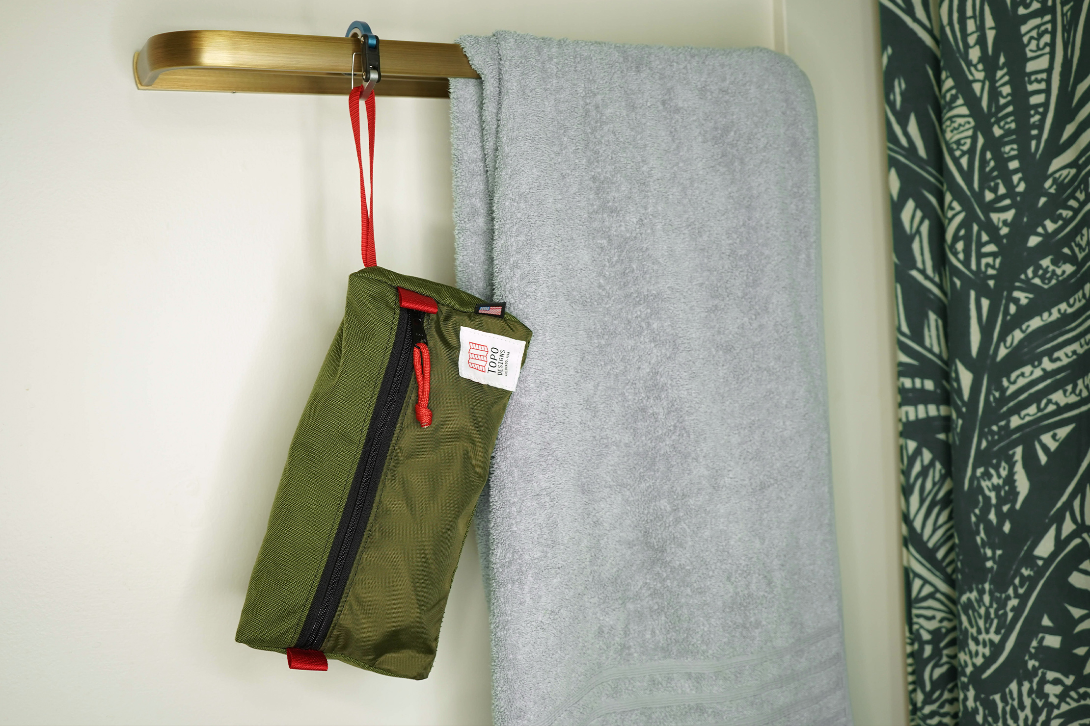 Topo Designs Dopp Kit Hanging Up