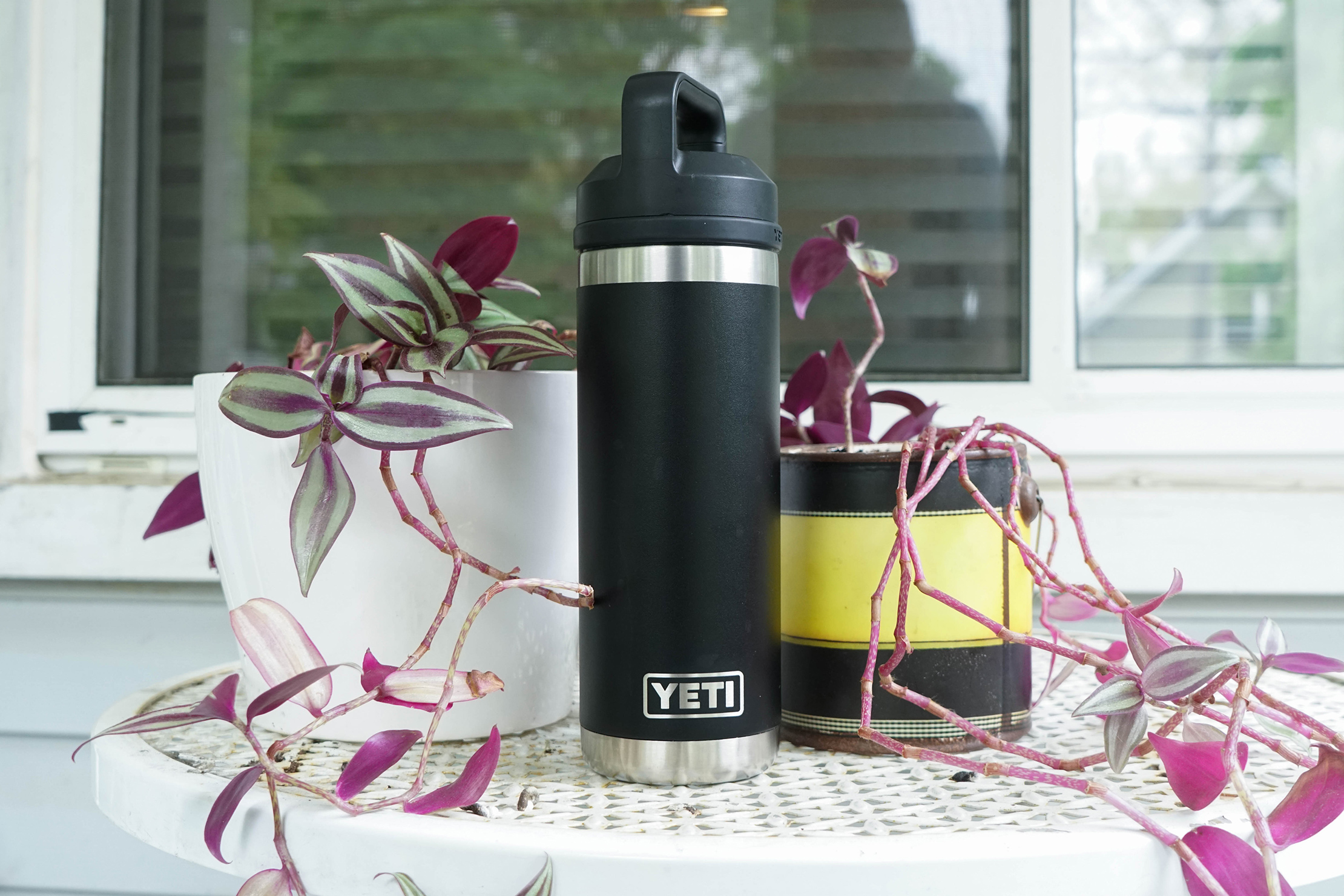 YETI Rambler 18oz Bottle On Table