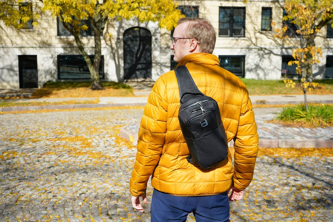 Pacsafe Venturesafe X Anti-Theft Sling Pack In Detroit