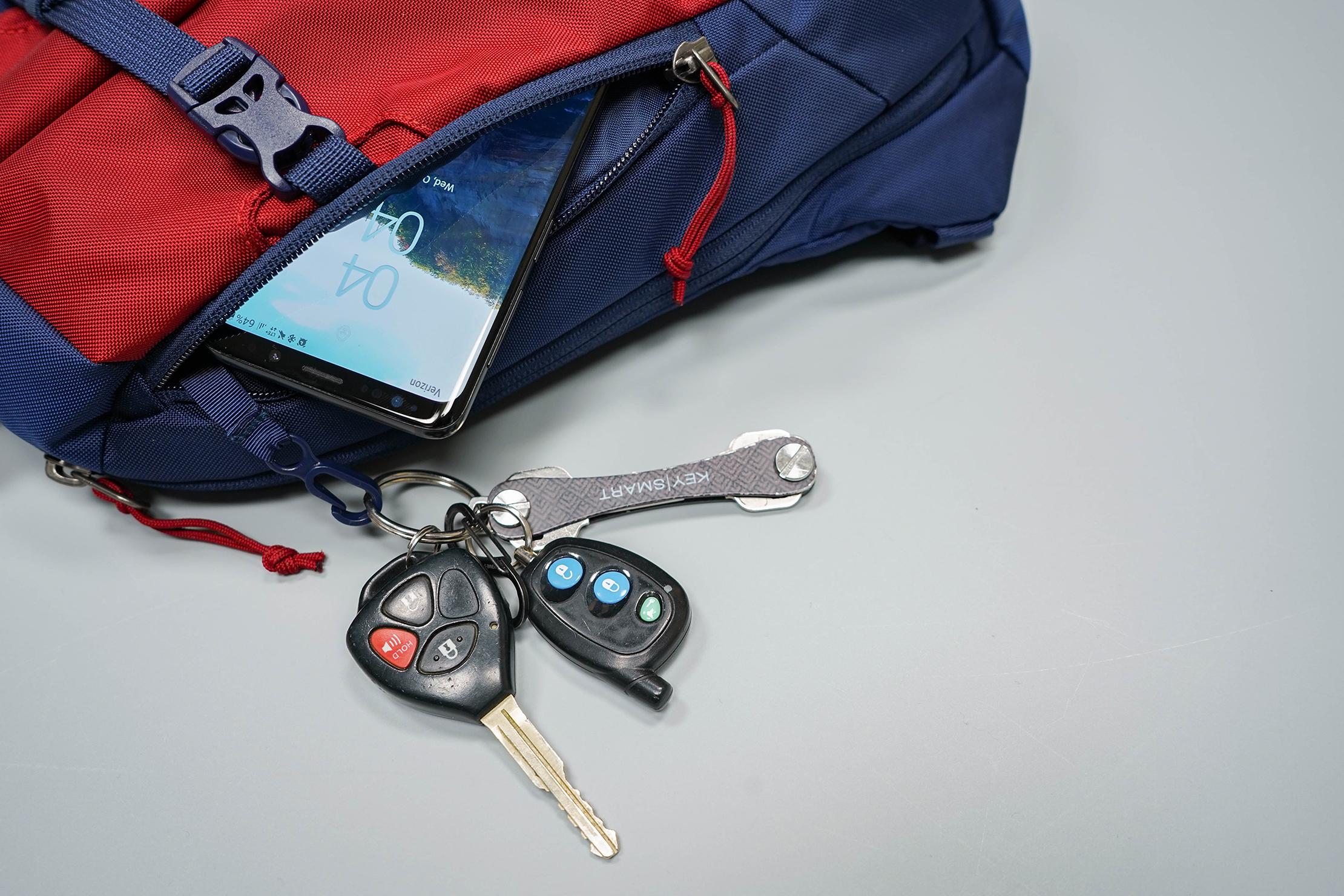 Patagonia Atom Sling Front Pocket