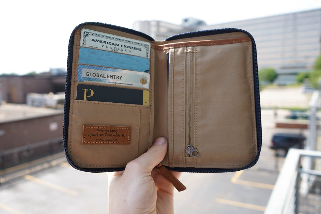 Fjallraven Passport Wallet In Detroit
