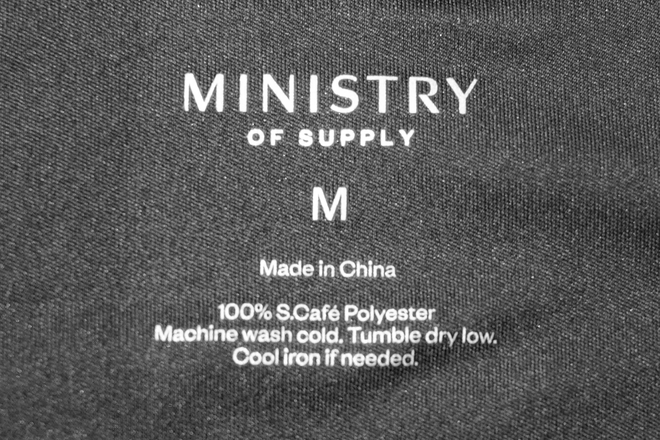 Ministry Of Supply Responsive Tee Tag