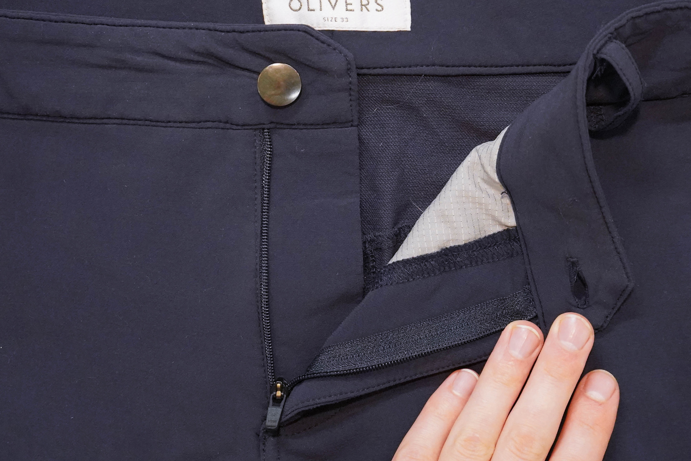 Olivers Capital Short Button And Zipper