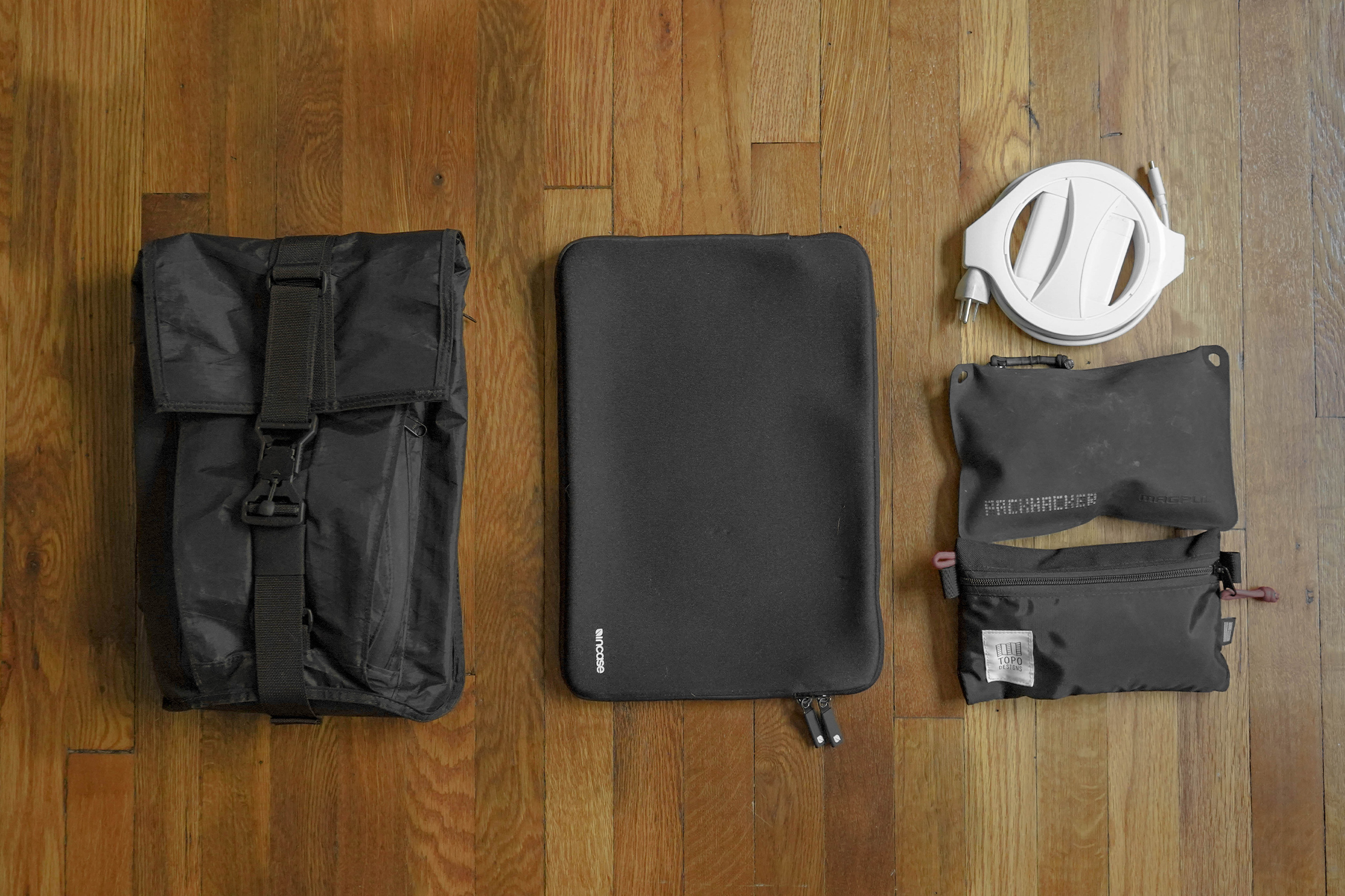 Mission Workshop Spar Flat Lay