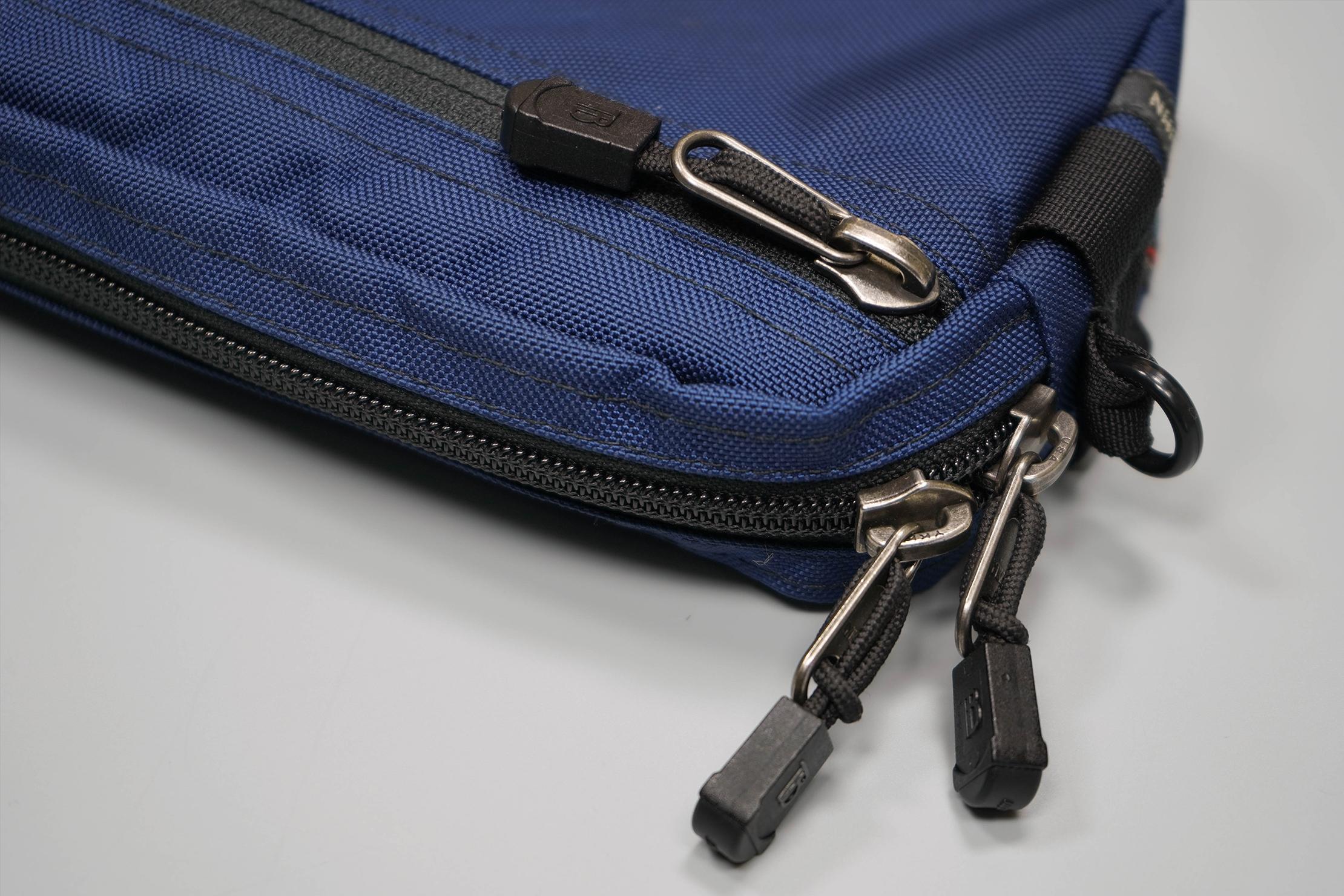 Tom Bihn Side Effect Zippers