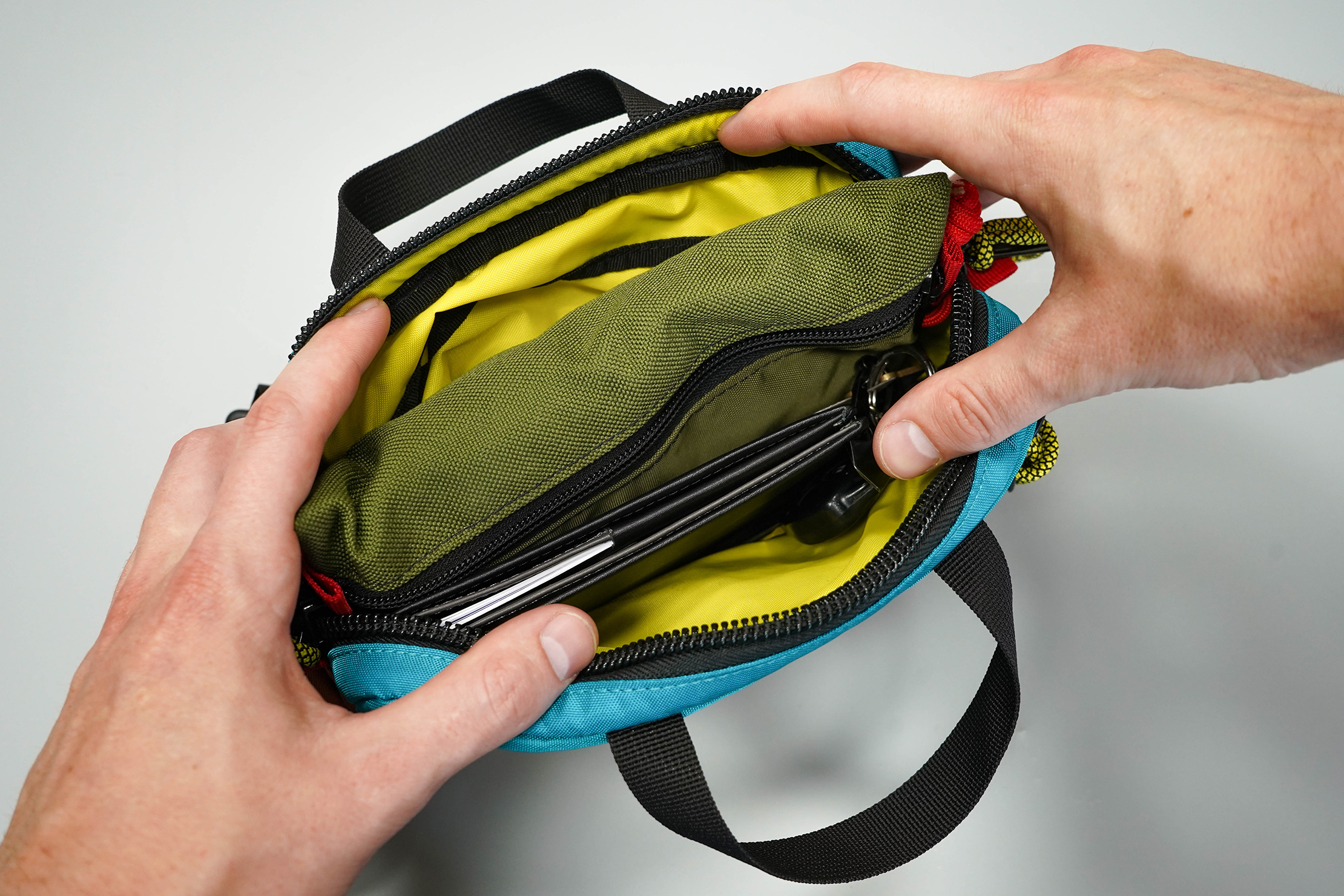 Topo Designs Mini Quick Pack Main Pocket