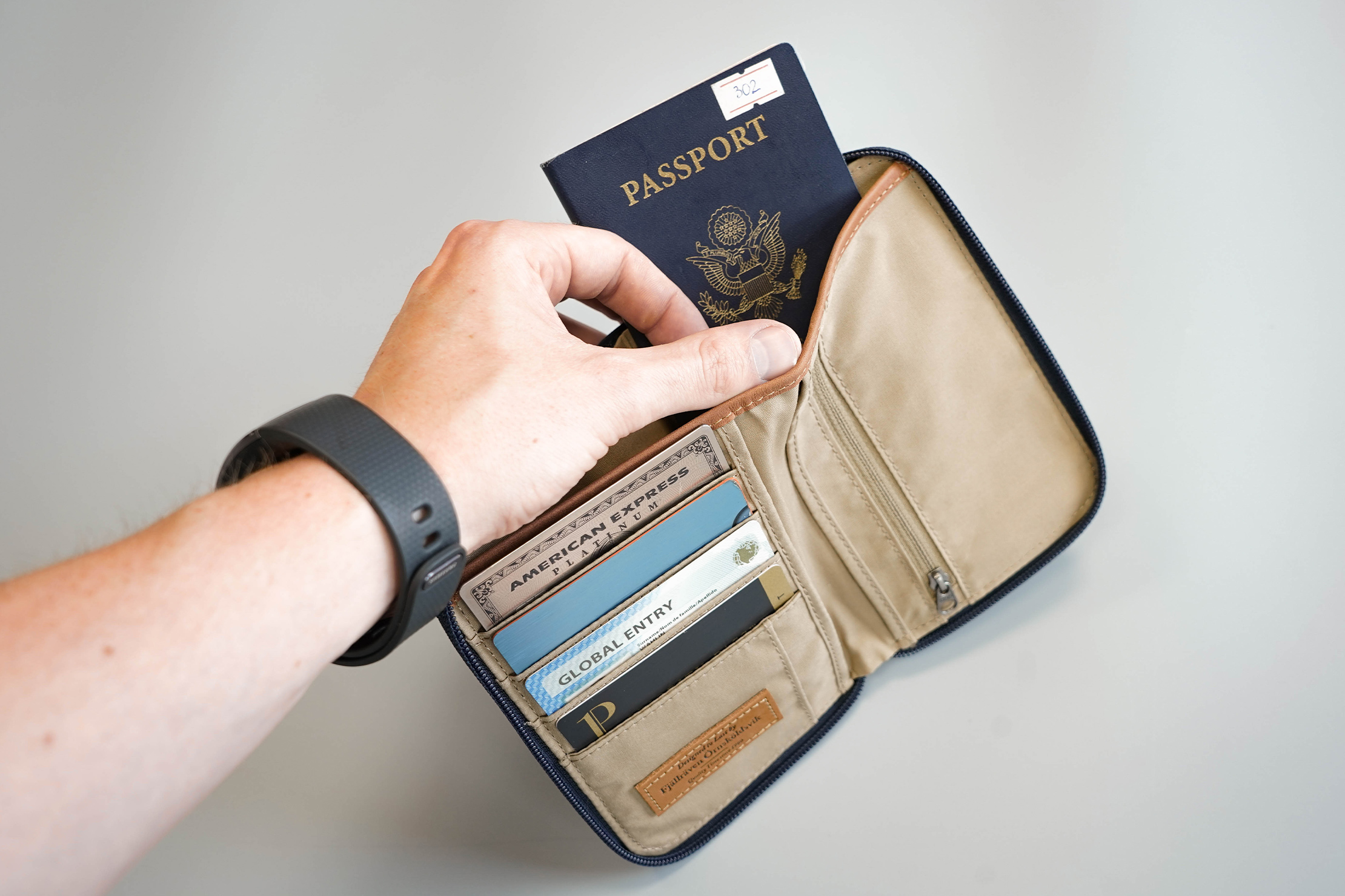 Fjallraven Passport Wallet Back Passport Pocket