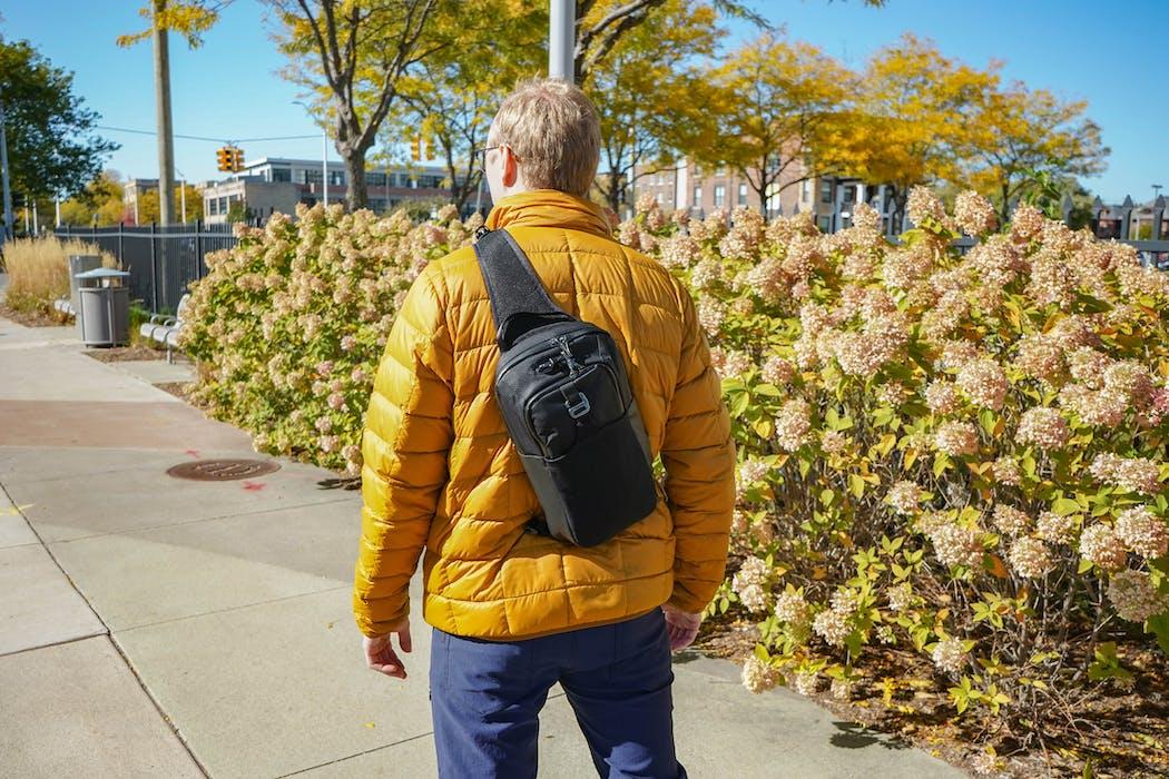 Pacsafe Venturesafe X Anti-Theft Sling Pack In Detroit