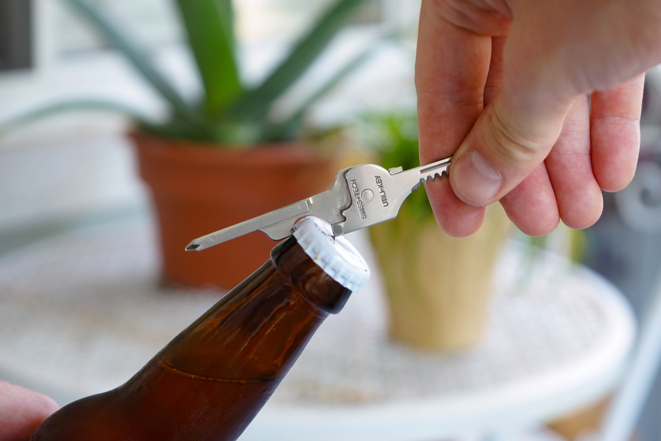 Swiss Tech Utili-Key Bottle Opener
