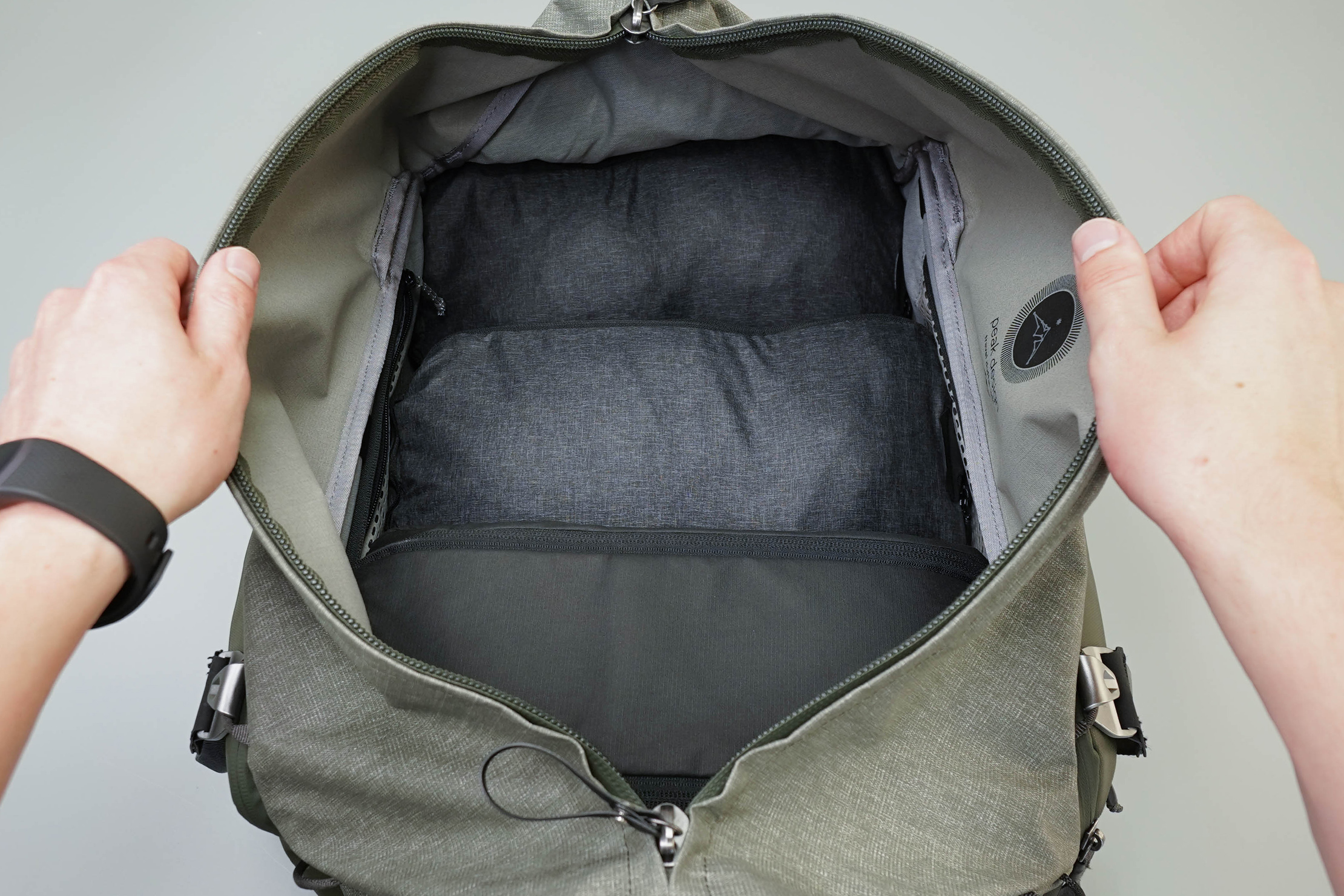 Peak Design Travel Duffel Main Compartment