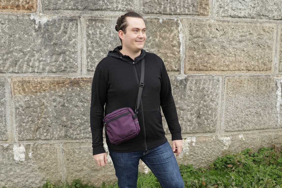 Wool & Prince x Pack Hacker Travel Zip Hoodie Prototype In Testing