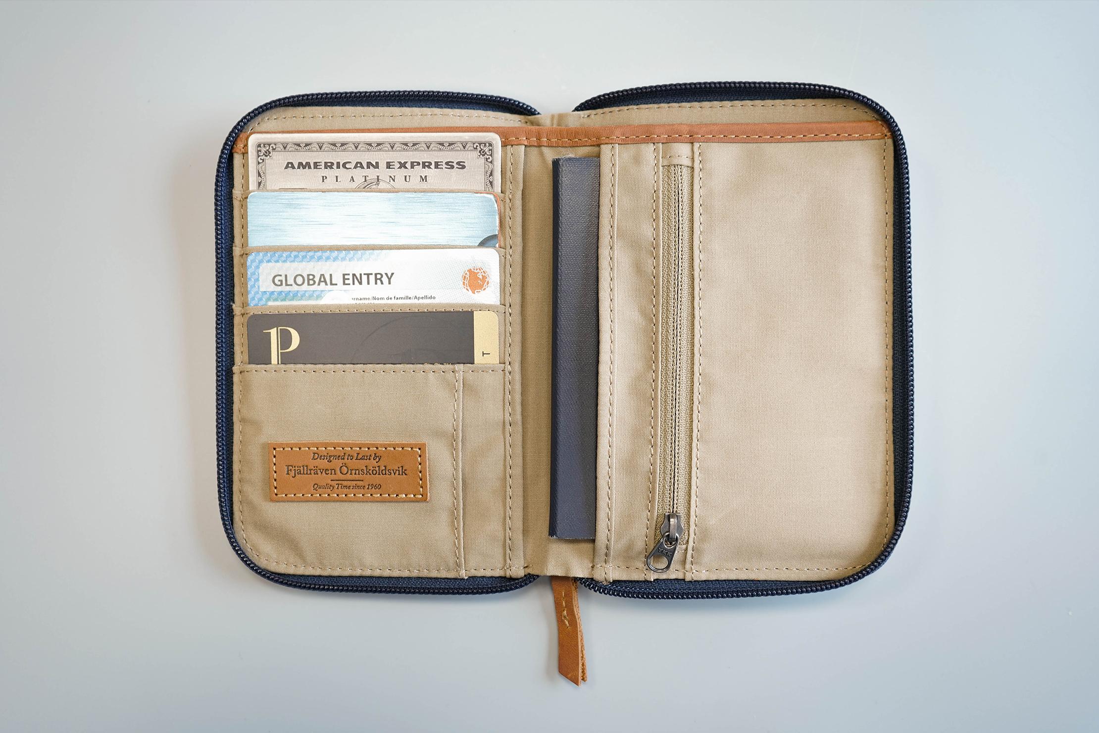 Fjallraven Passport Wallet Open