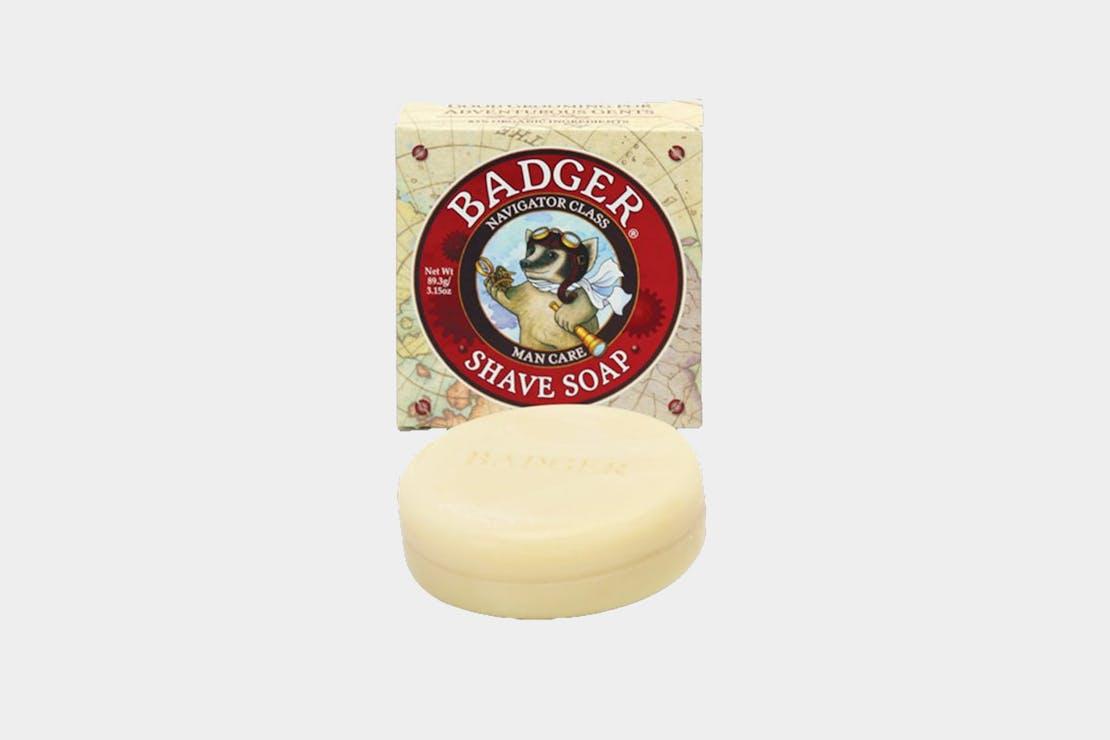 Badger Navigator Class Shampoo Bar