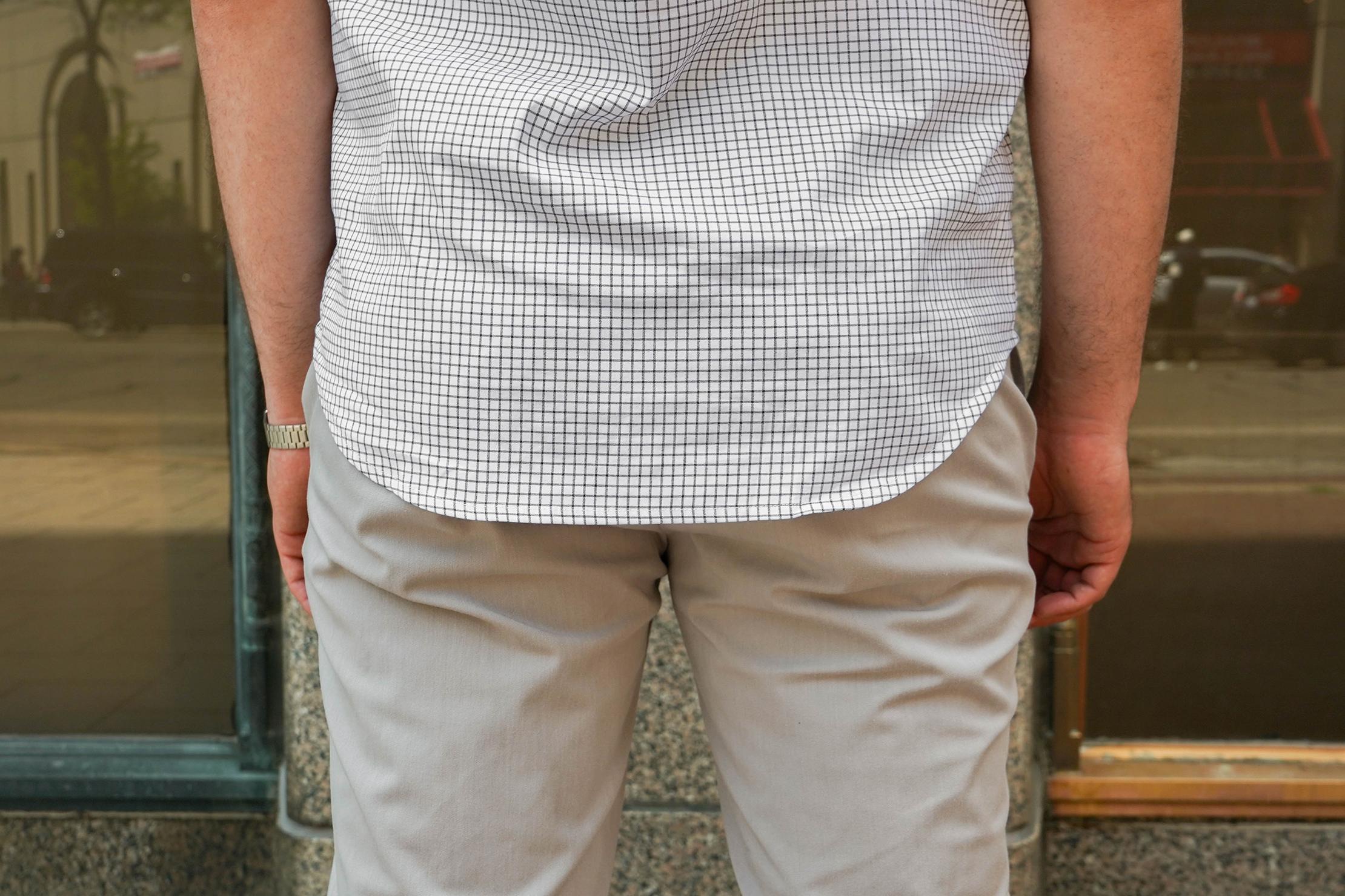 Ministry Of Supply Aero Dress Shirt Shirt Tails