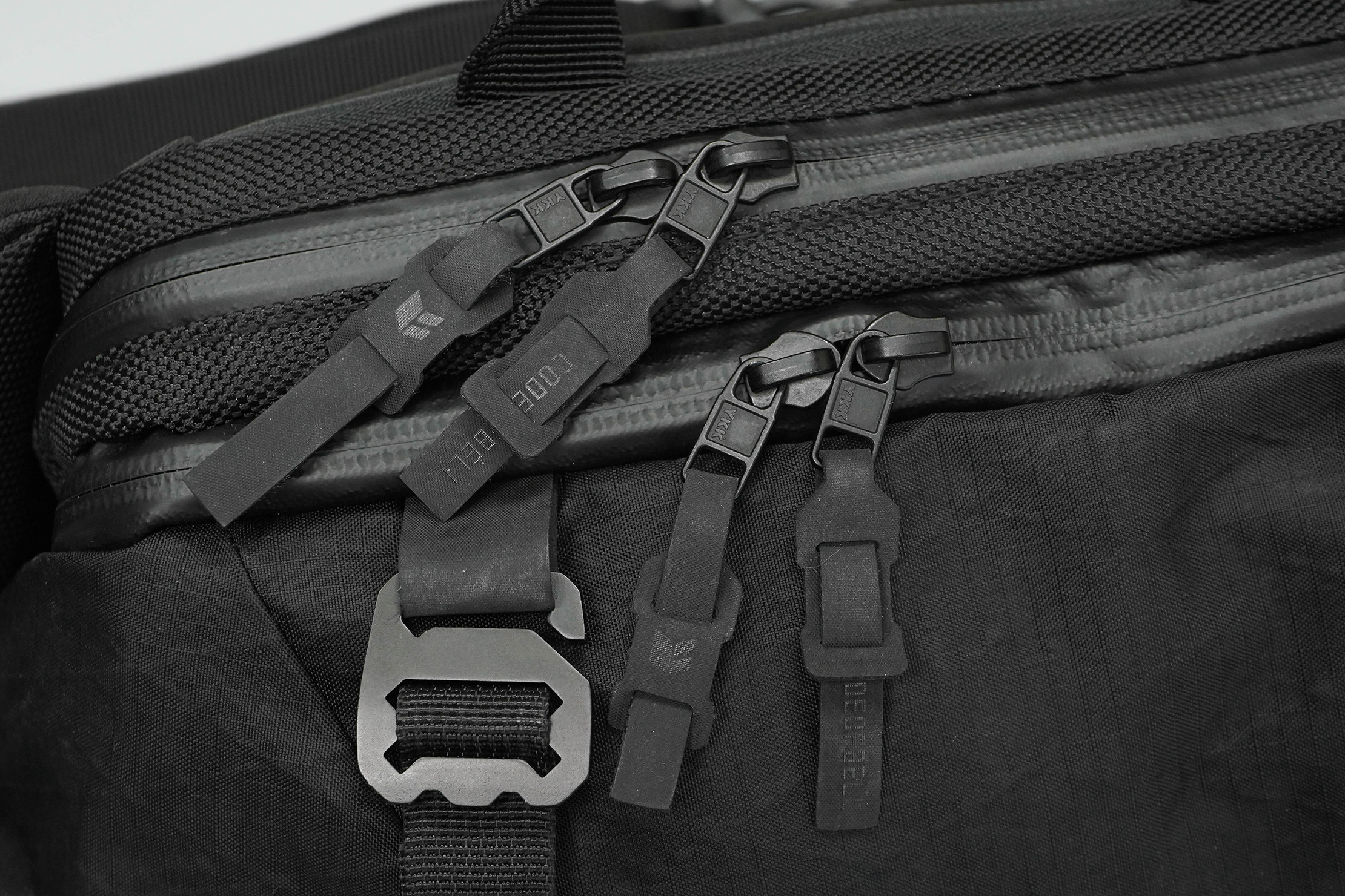 CODEOFBELL X-POD Zippers