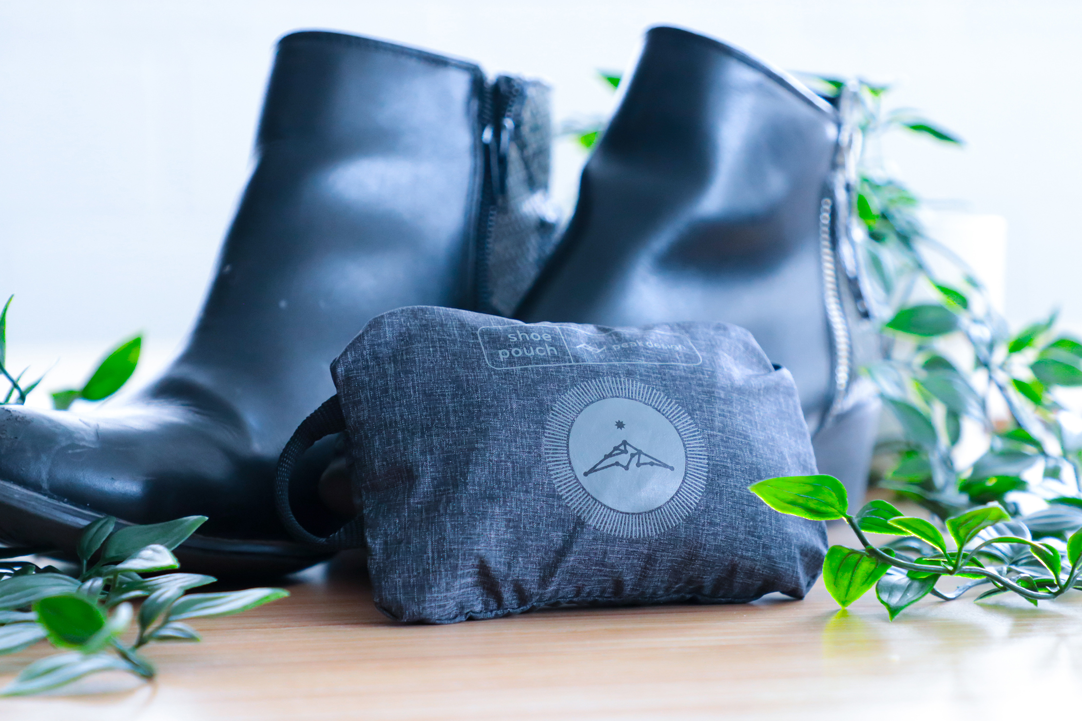 Peak Design Shoe Pouch usage compact