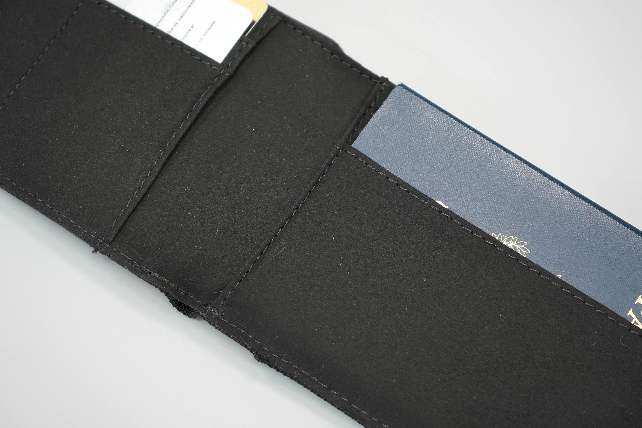 Aer Travel Wallet Inside Material