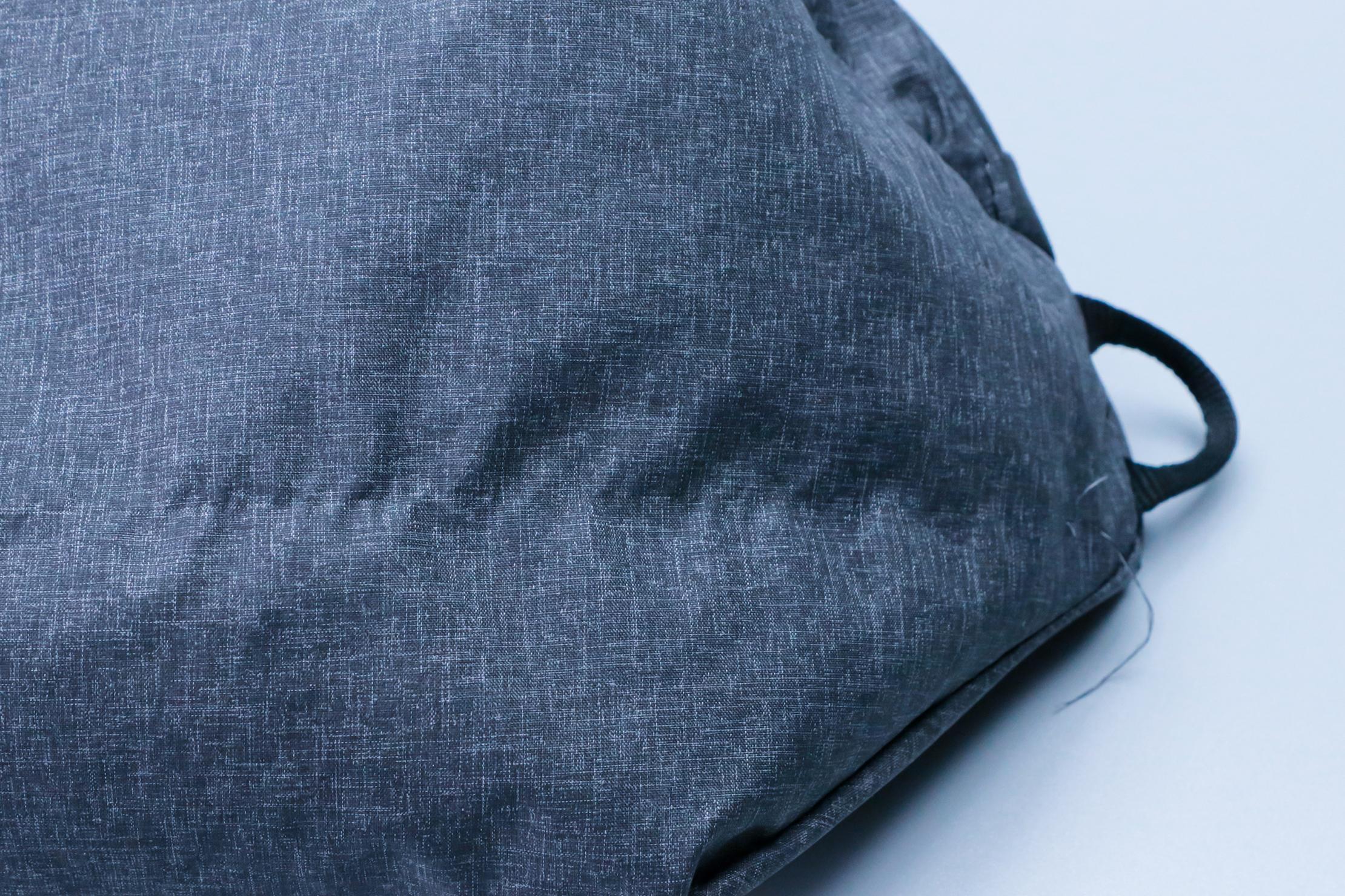 Peak Design Shoe Pouch loose thread