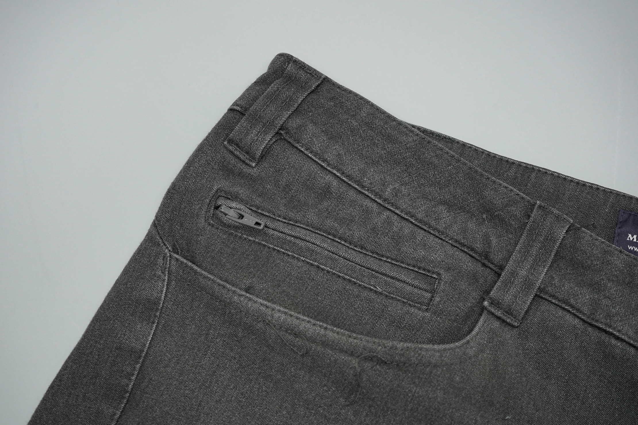Makers And Riders Traveler Stretch Jeans Zipper Welts