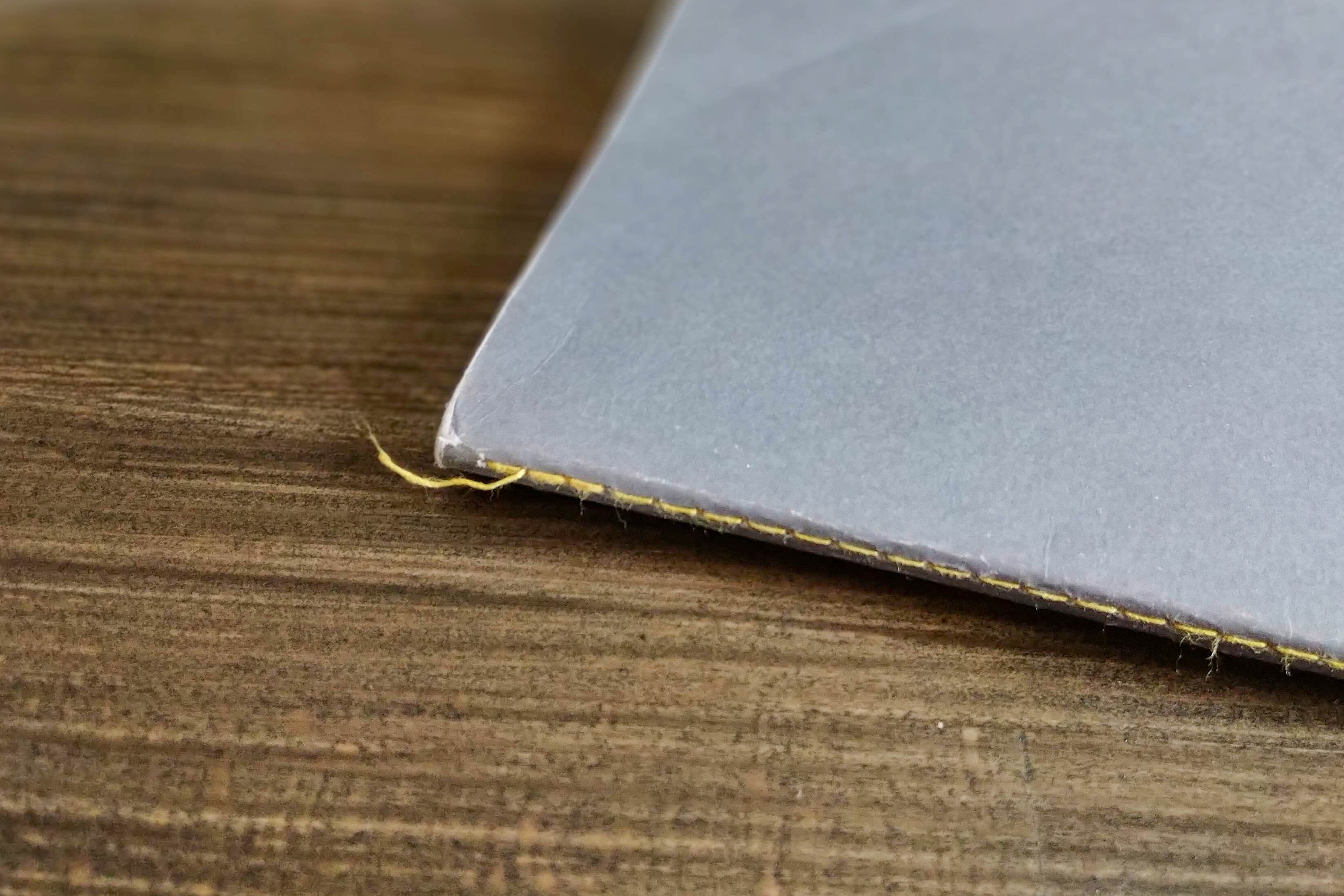 Baronfig Vanguard Softcover Notebook Loose Thread On Binding