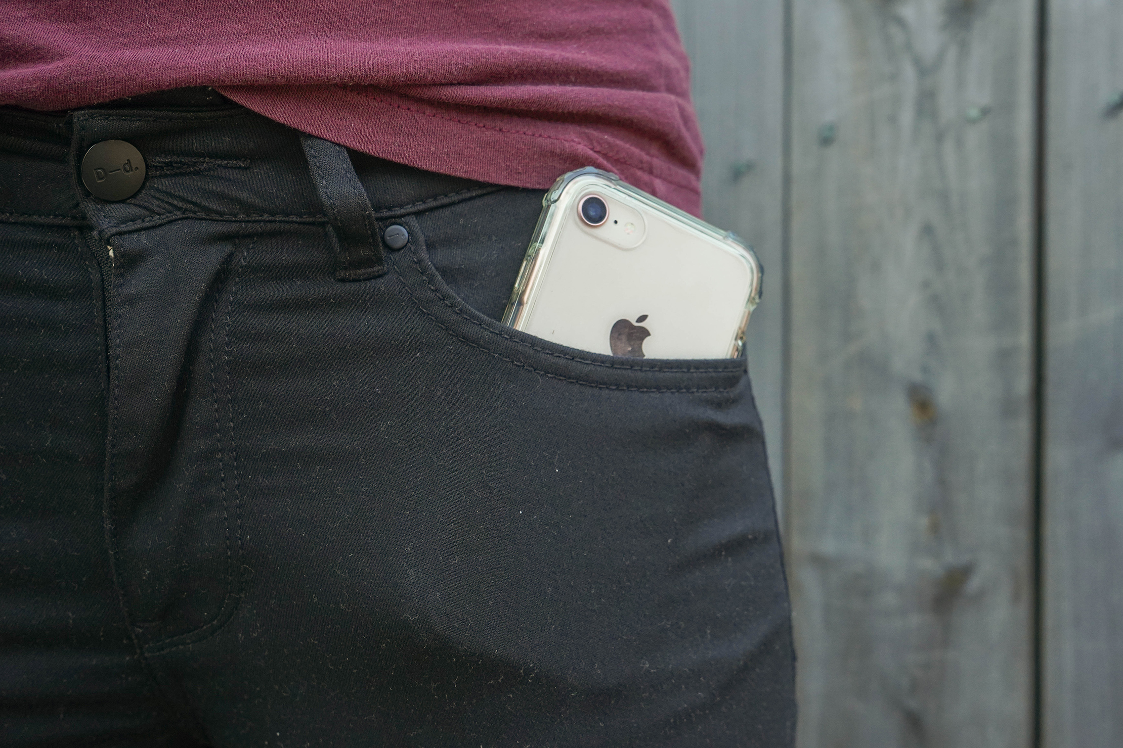 DUER Never Fade Pant Pocket