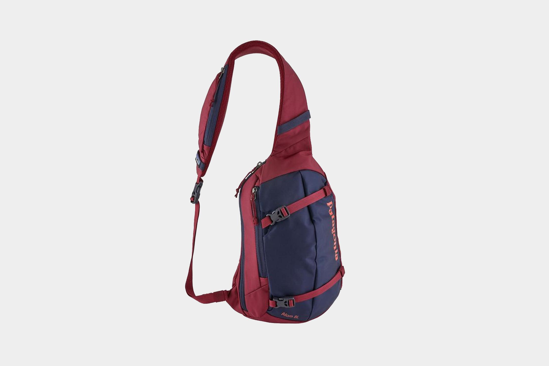 Greenlans Mens Small Canvas Sling Messenger Shoulder Bag Chest Pack Sports Backpack