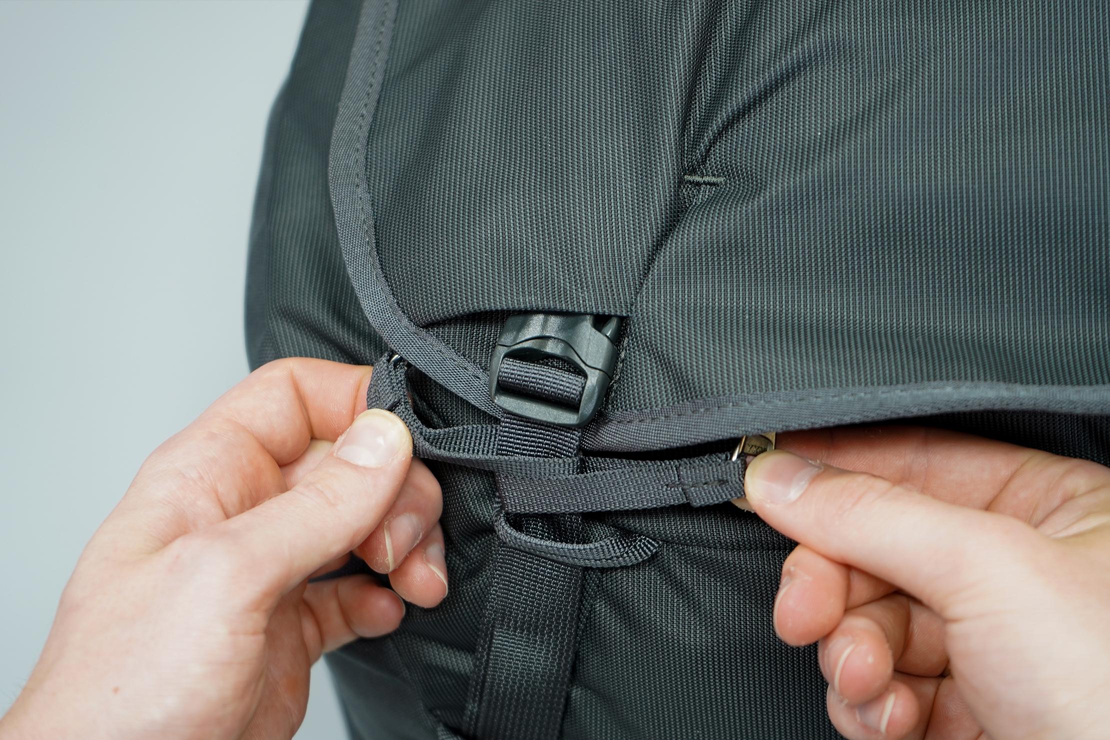 Thule Landmark 40L Zipper Security
