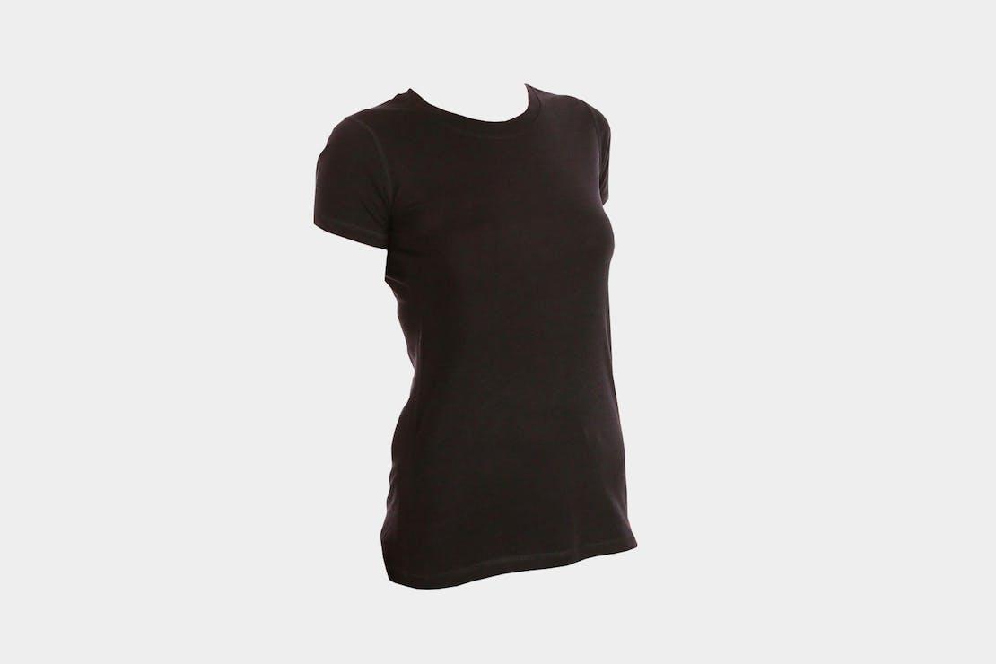 Woolly Merino Wool Flex Crew Neck Tee Shirt