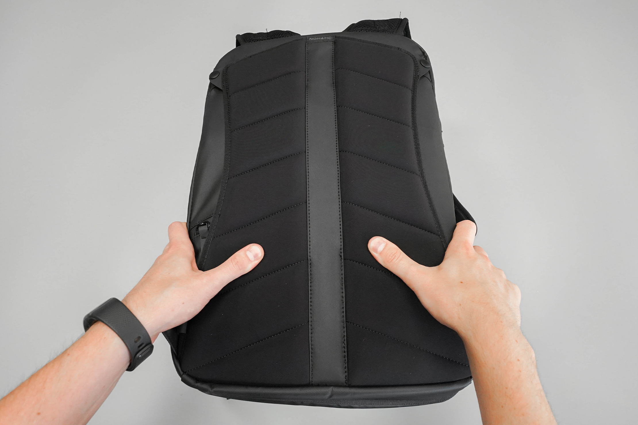 NOMATIC Travel Pack Back Panel