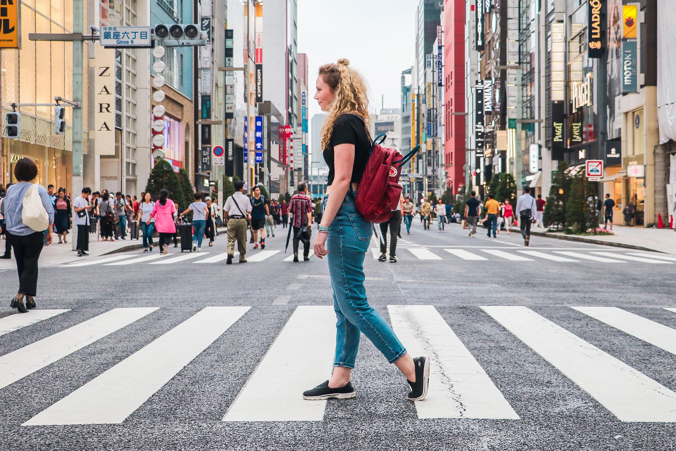"""Fjallraven Kanken 13"""" Laptop Backpack In Tokyo, Japan"""