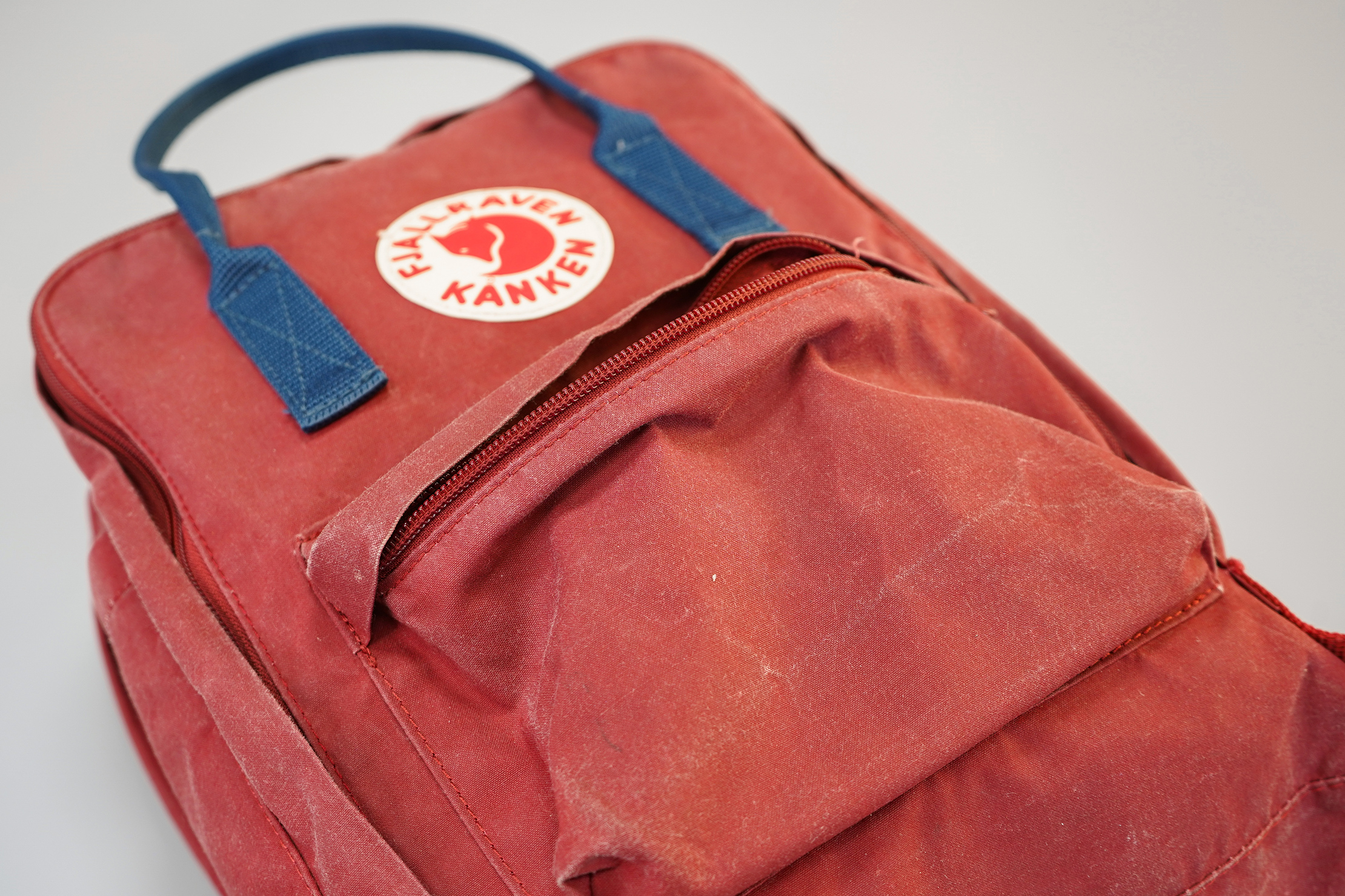 "Fjallraven Kanken 13"" Laptop Backpack Fabric Wear"