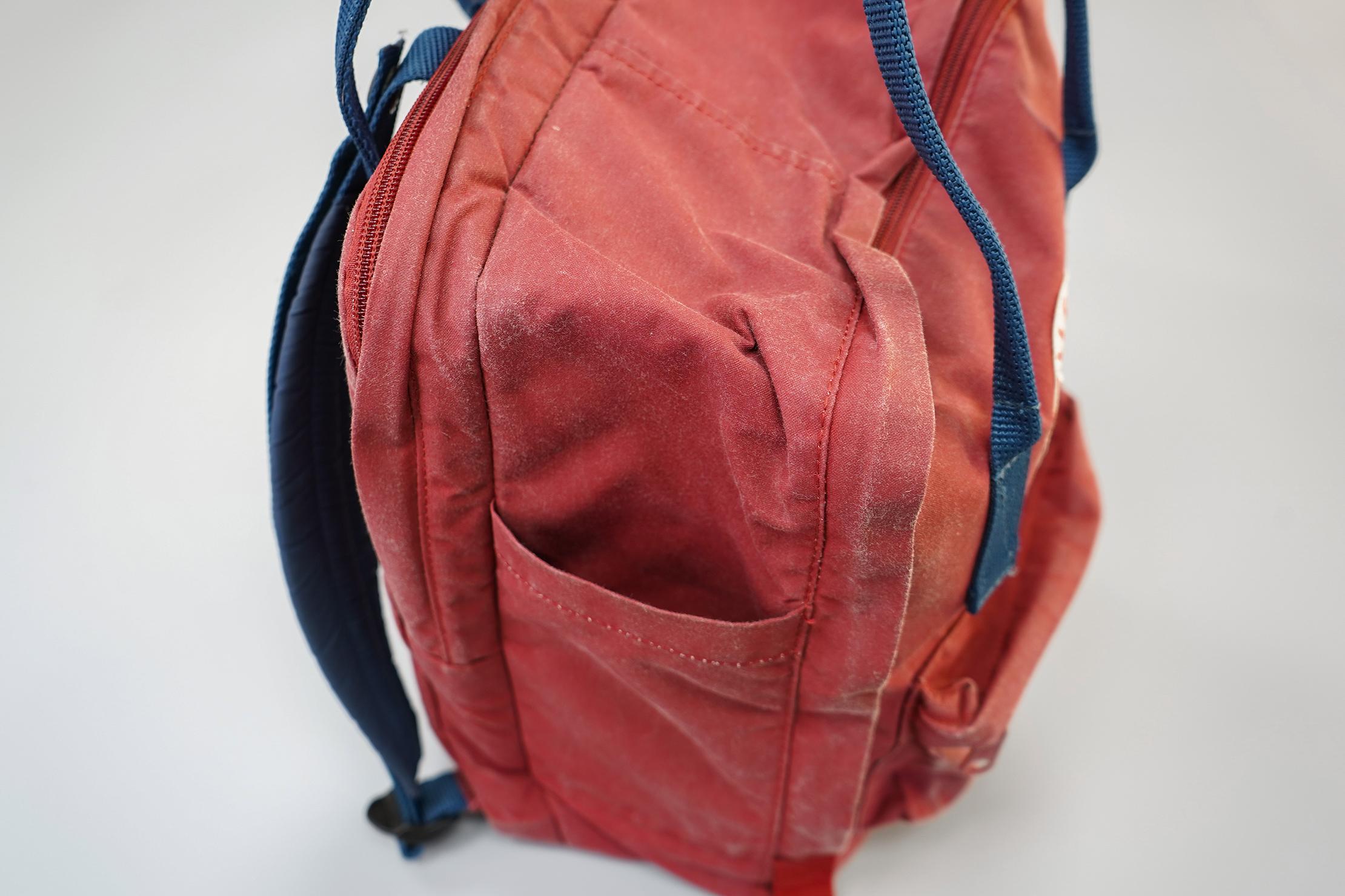 """Fjallraven Kanken 13"""" Laptop Backpack Side Pocket"""