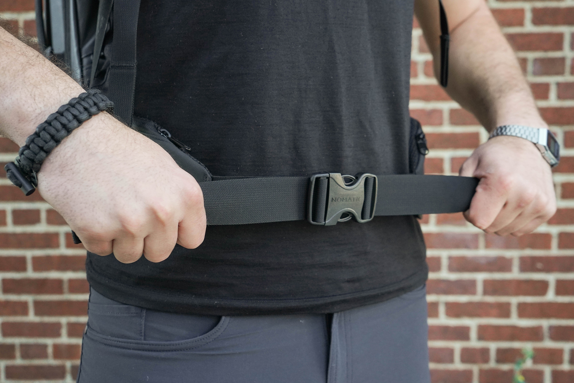 NOMATIC Travel Pack Hip Belt