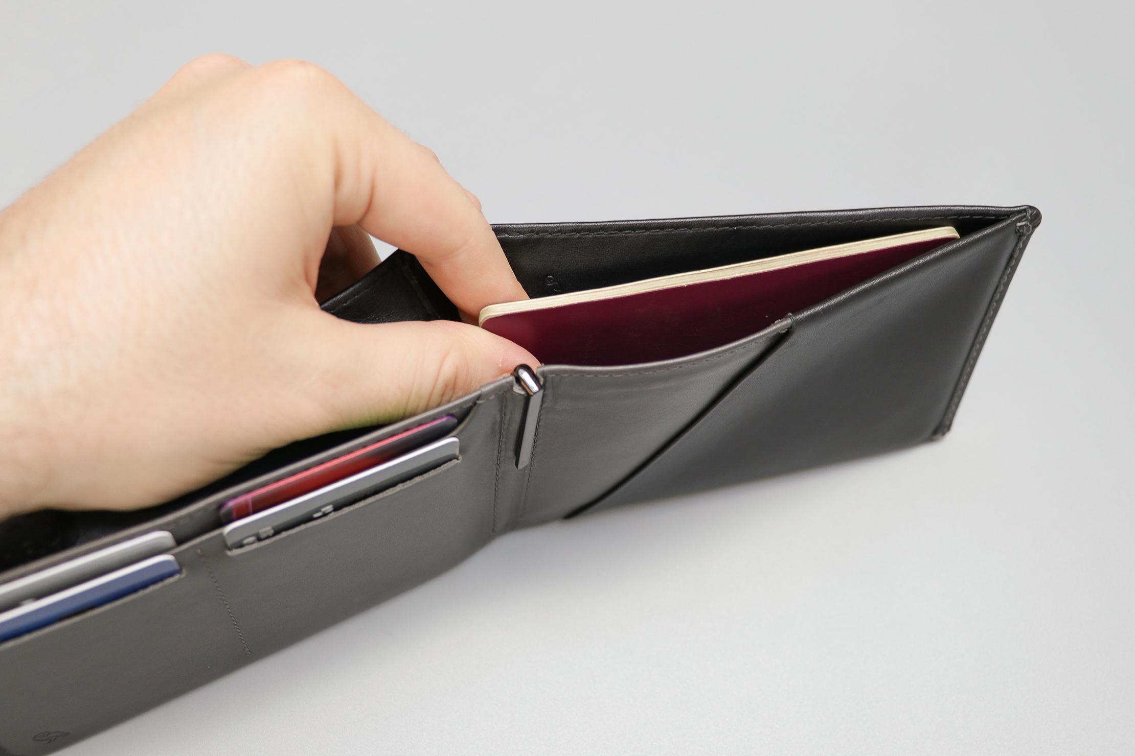 Bellroy Travel Wallet Passport In The Cash Sleeve