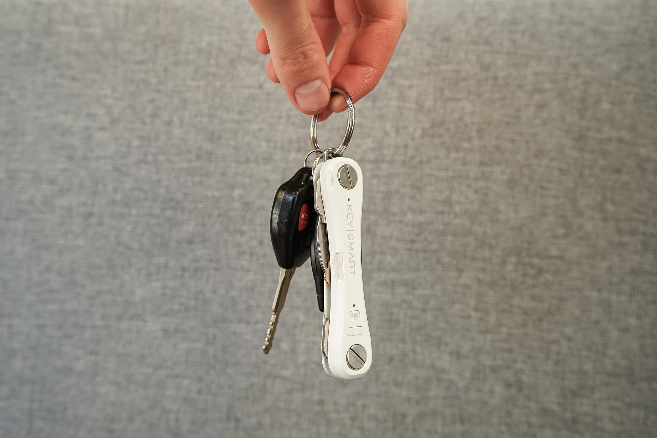 KeySmart Key Organizer Pro On A Keychain