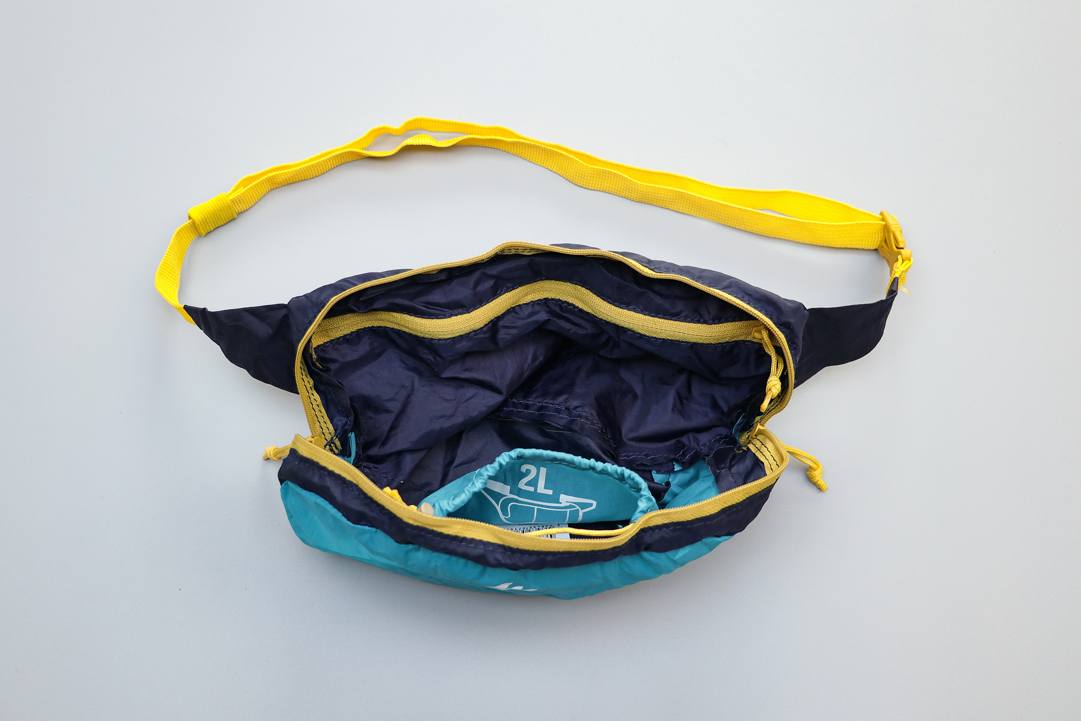 Quechua Ultra Compact Travel Waist Pack Main Compartment
