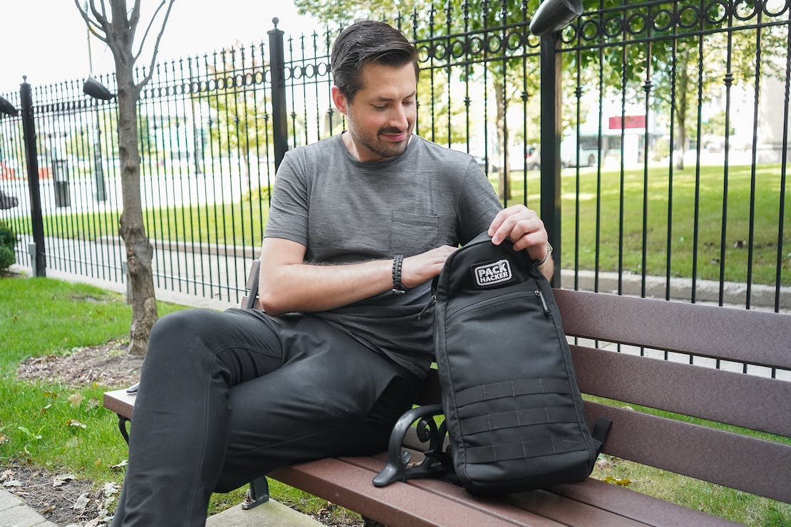 GORUCK Bullet Ruck 10L In Use