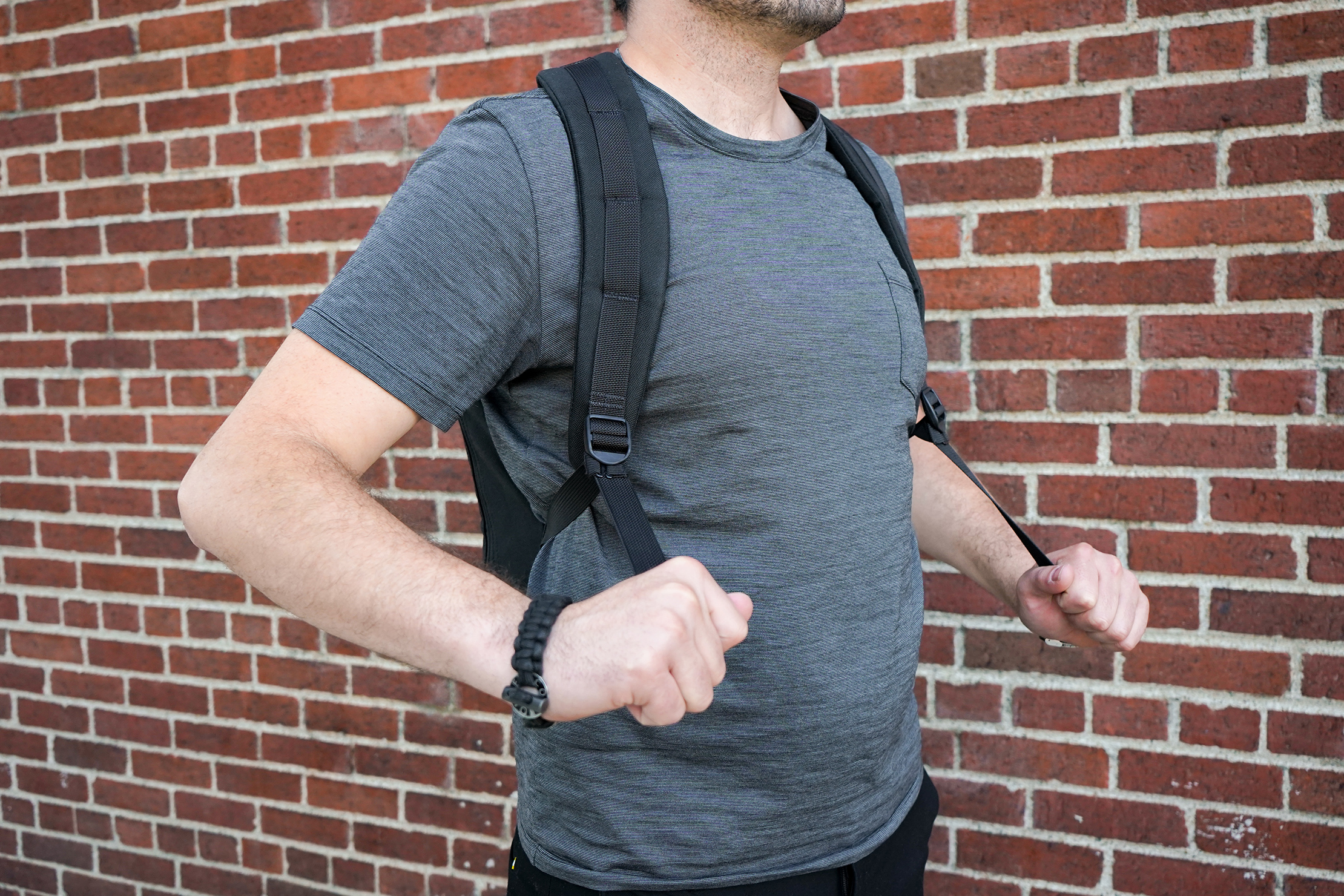 GORUCK Bullet Ruck 10L Shoulder Strap Adjustment